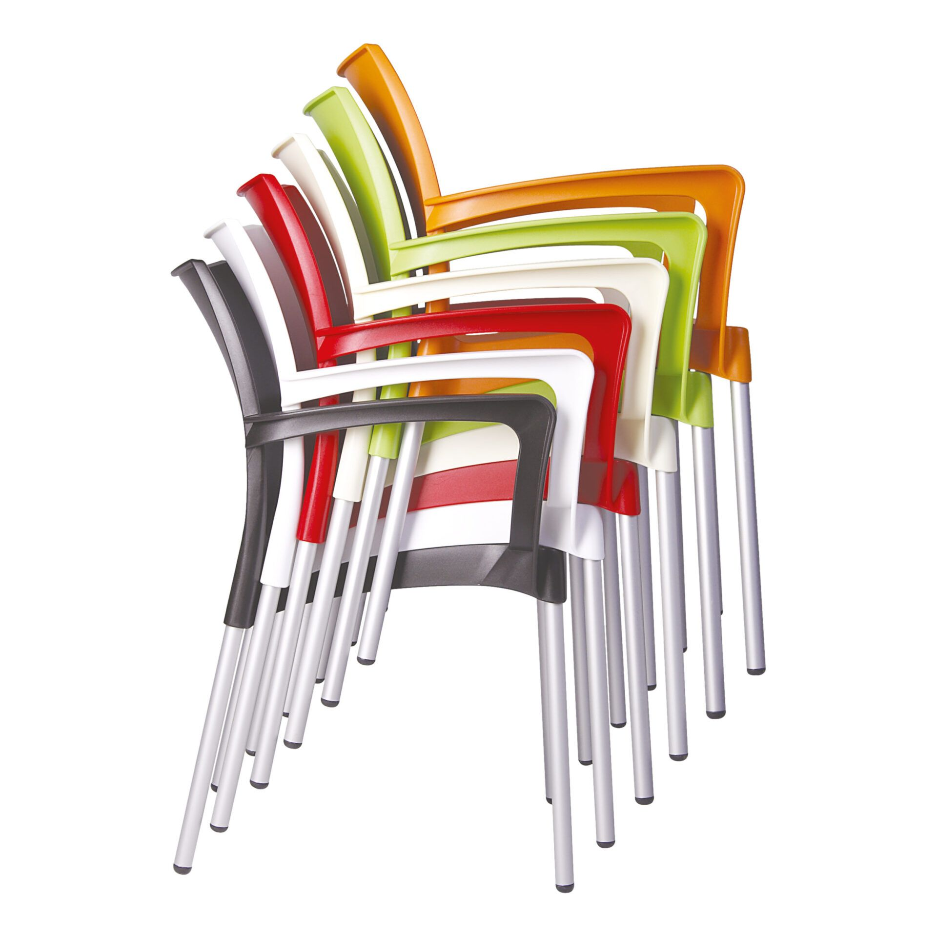 commercial polypropylene dolce chair stack 01