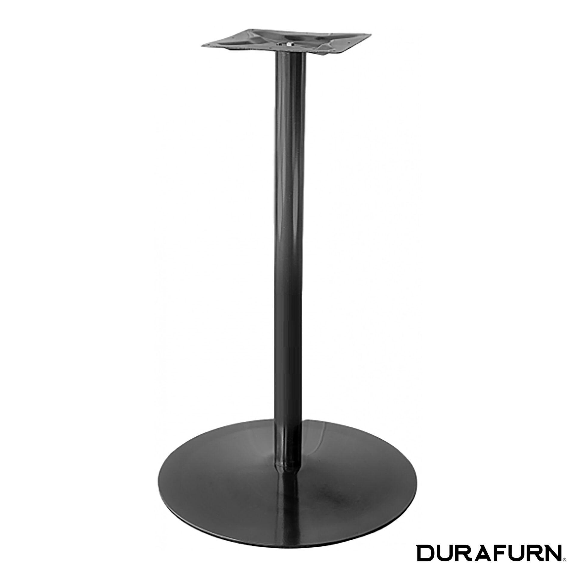 coral round bar table base black vjm11j