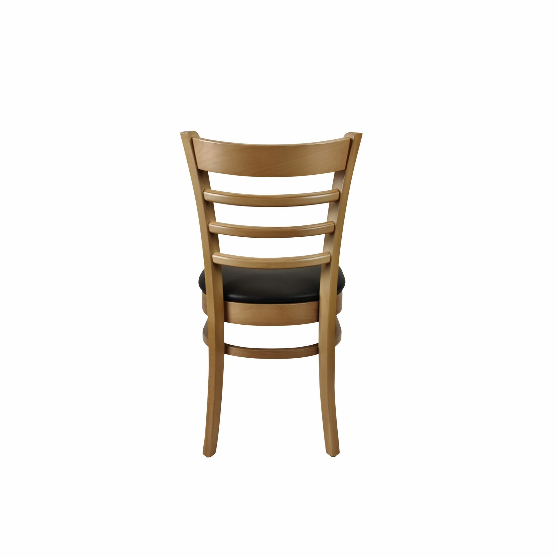 florence chair natural.black cushion back