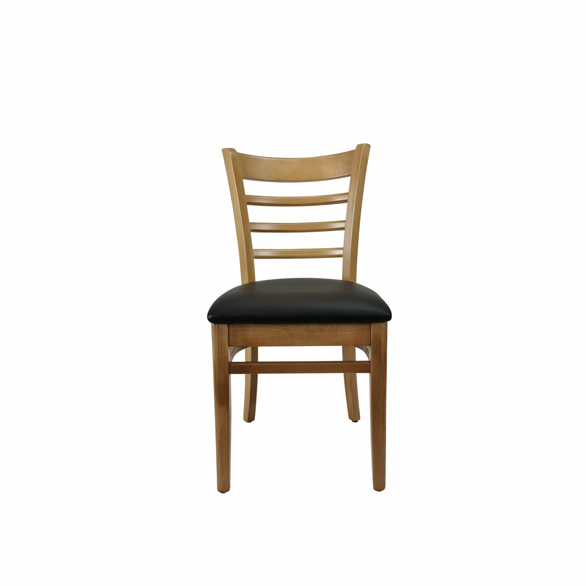 florence chair natural.black cushion front