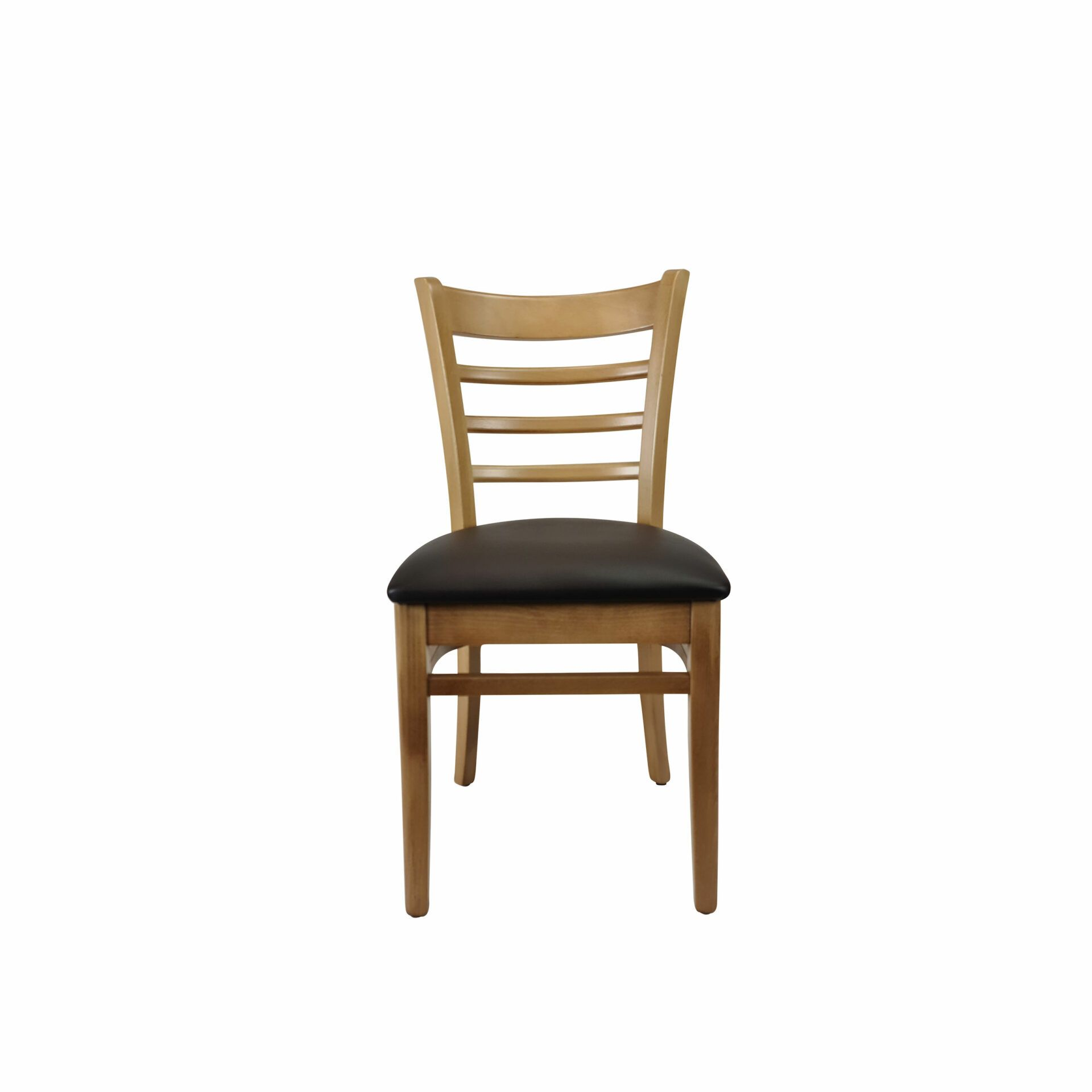 florence chair natural.chocolate cushion front