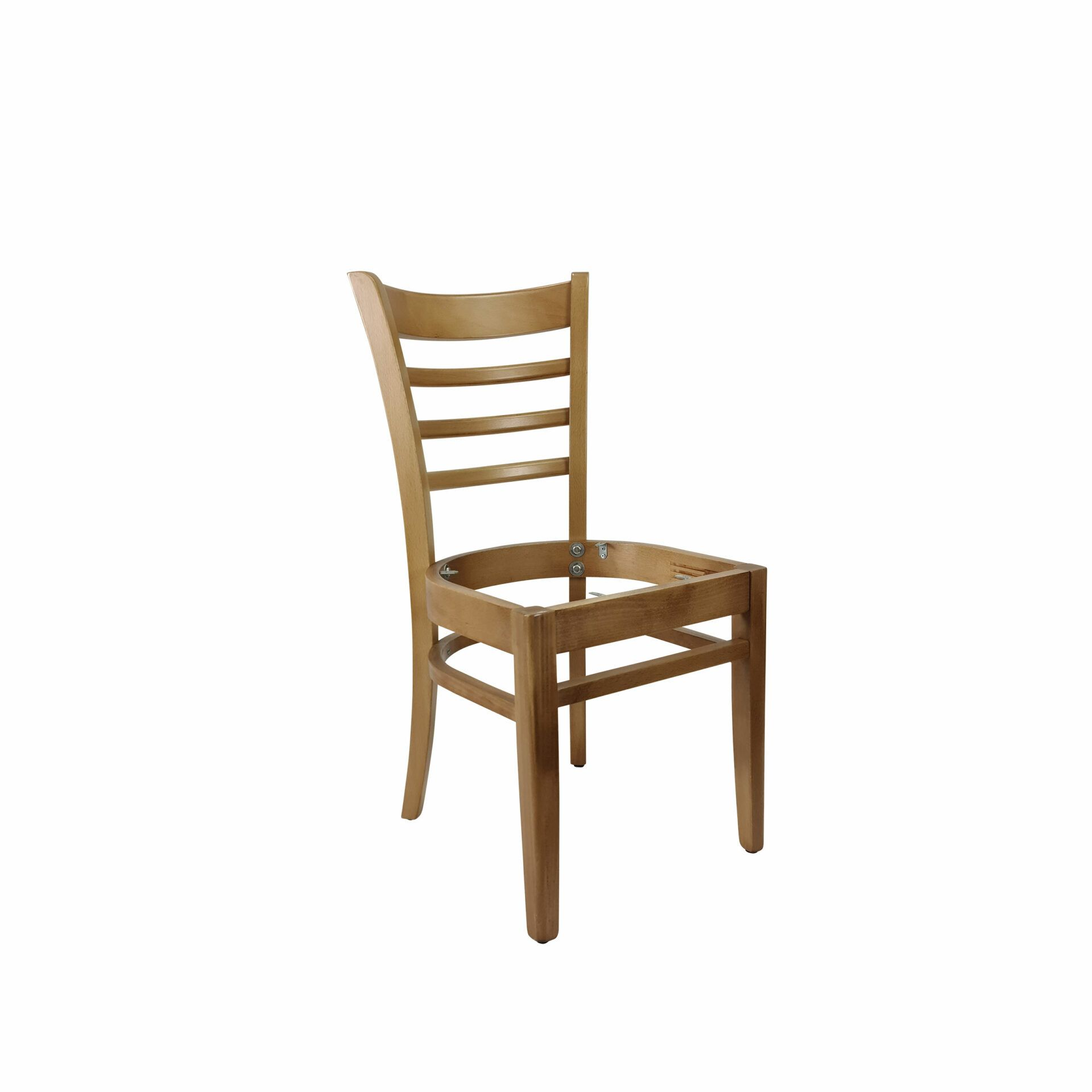 florence chair natural.noseat front side