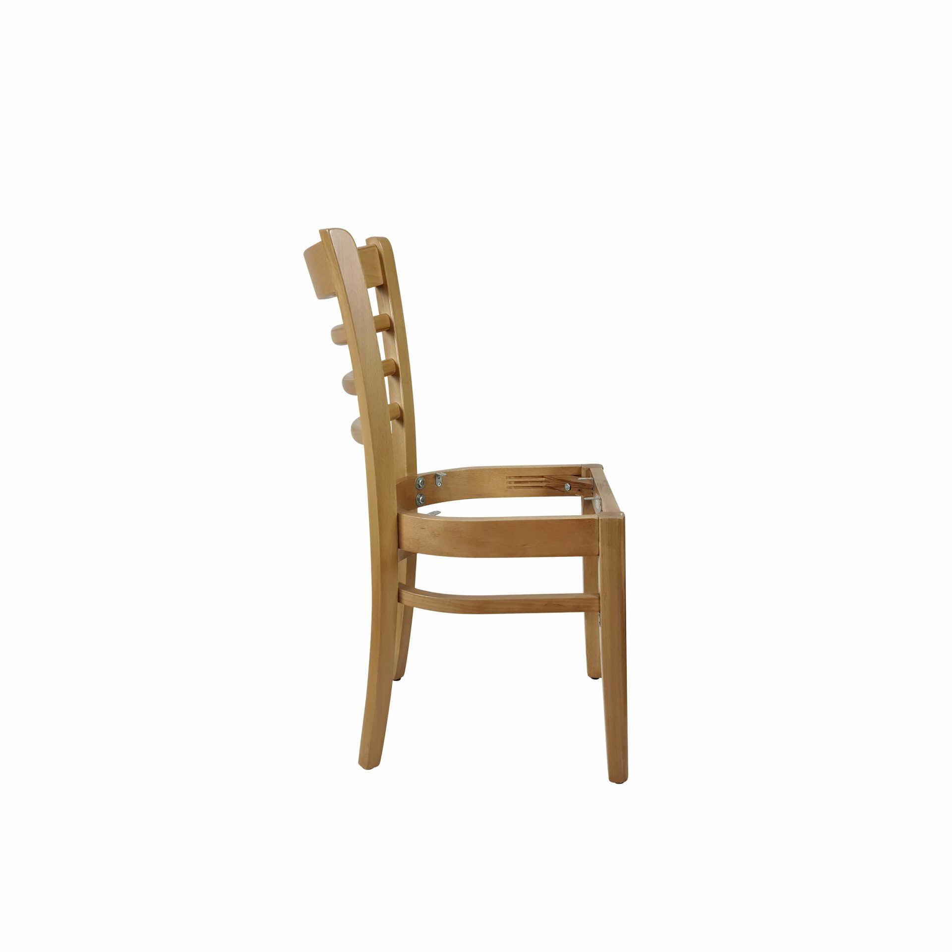 florence chair natural.noseat side