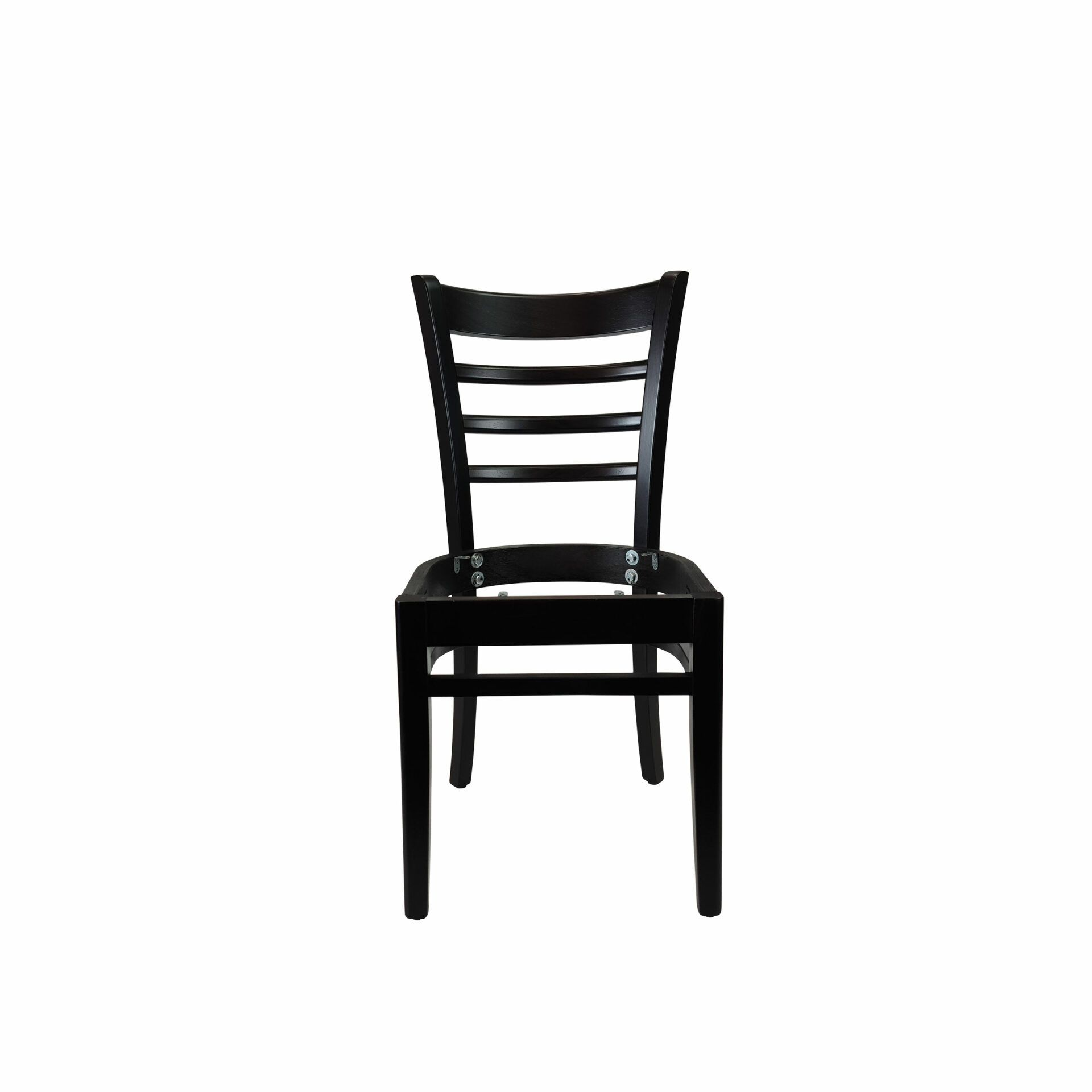 florence chair wenge.noseat front