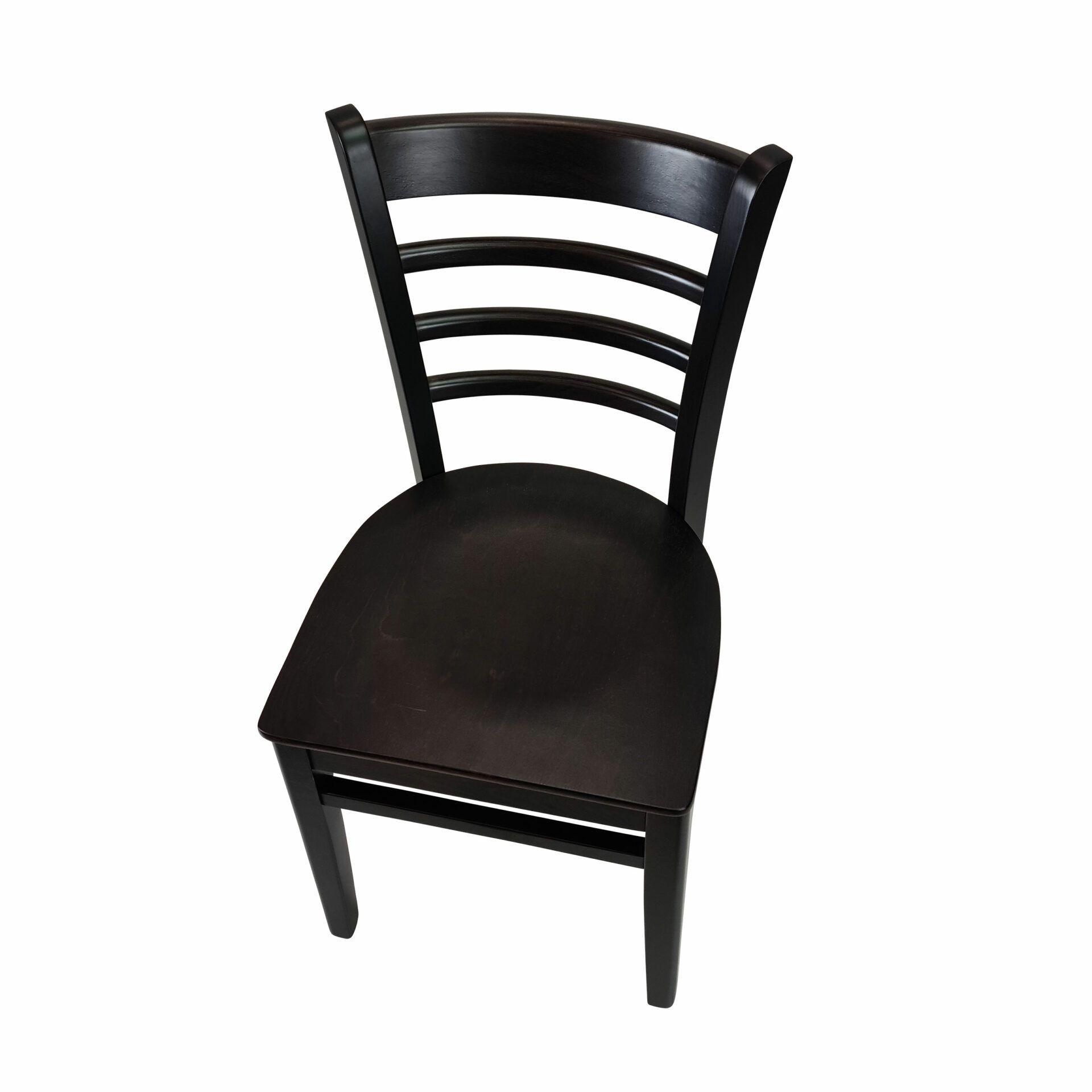 florence chair wenge.top angle