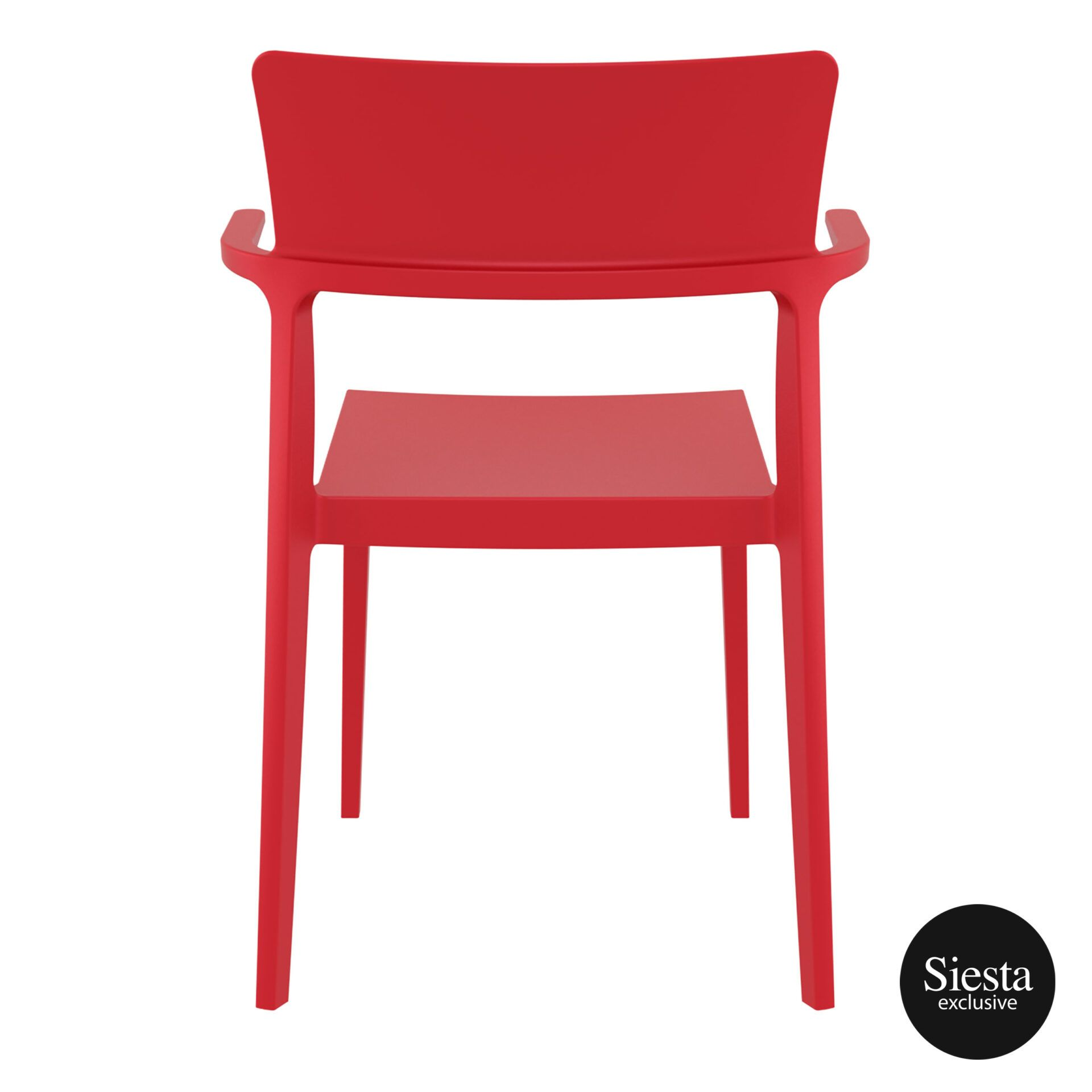 hospitality dining polypropylene plus chair red back 1