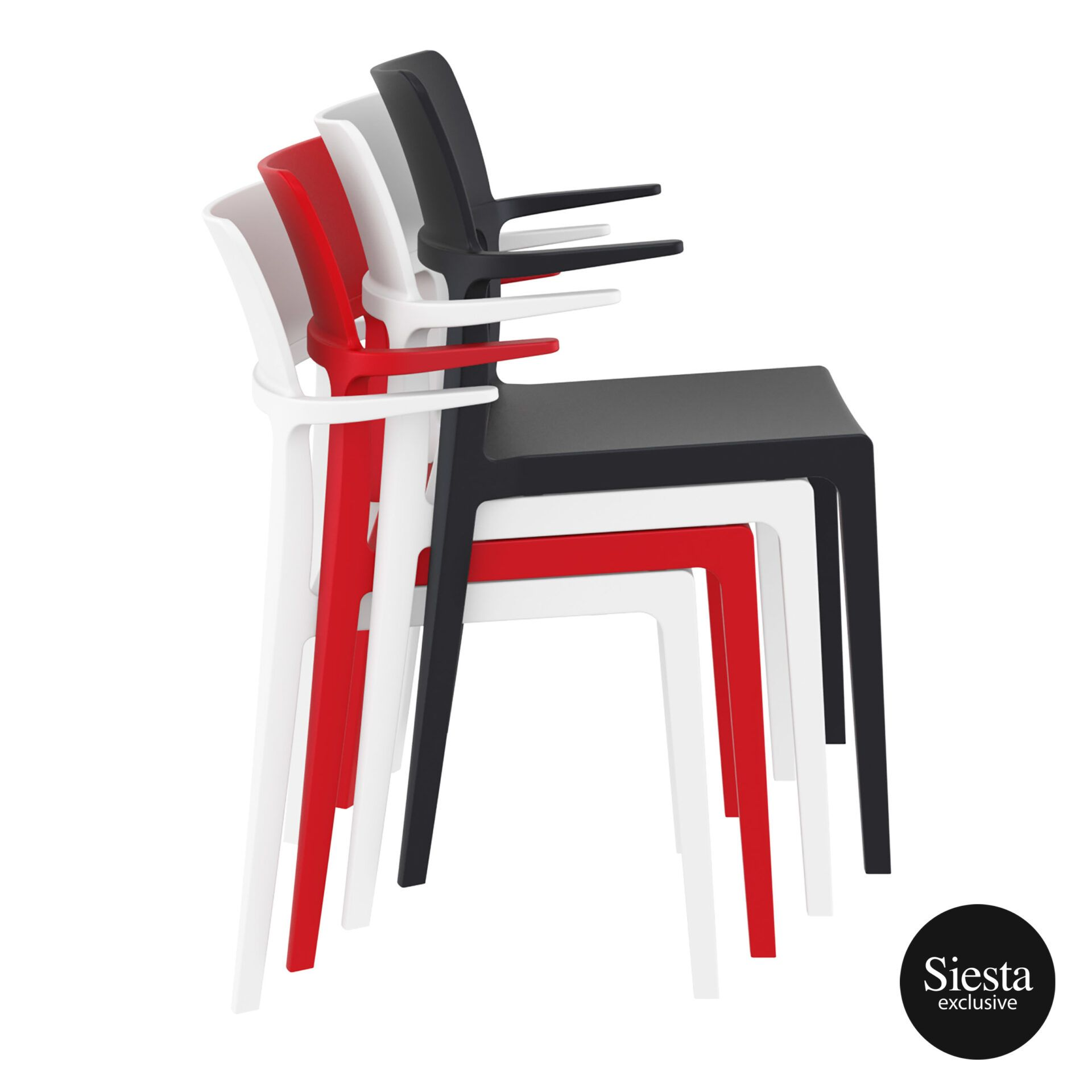 hospitality dining polypropylene plus chair stack 2