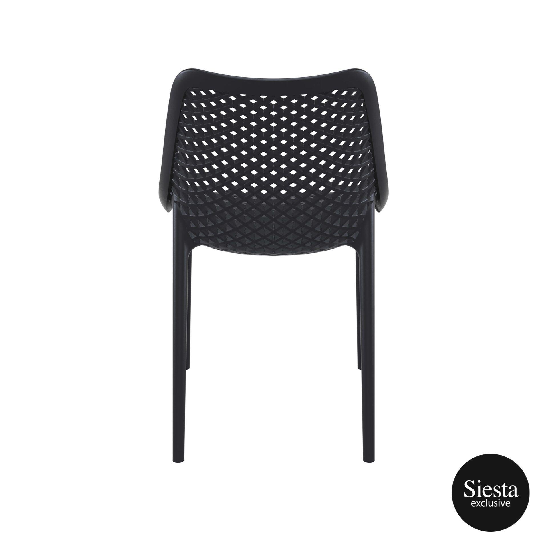 original siesta air chair black back 1