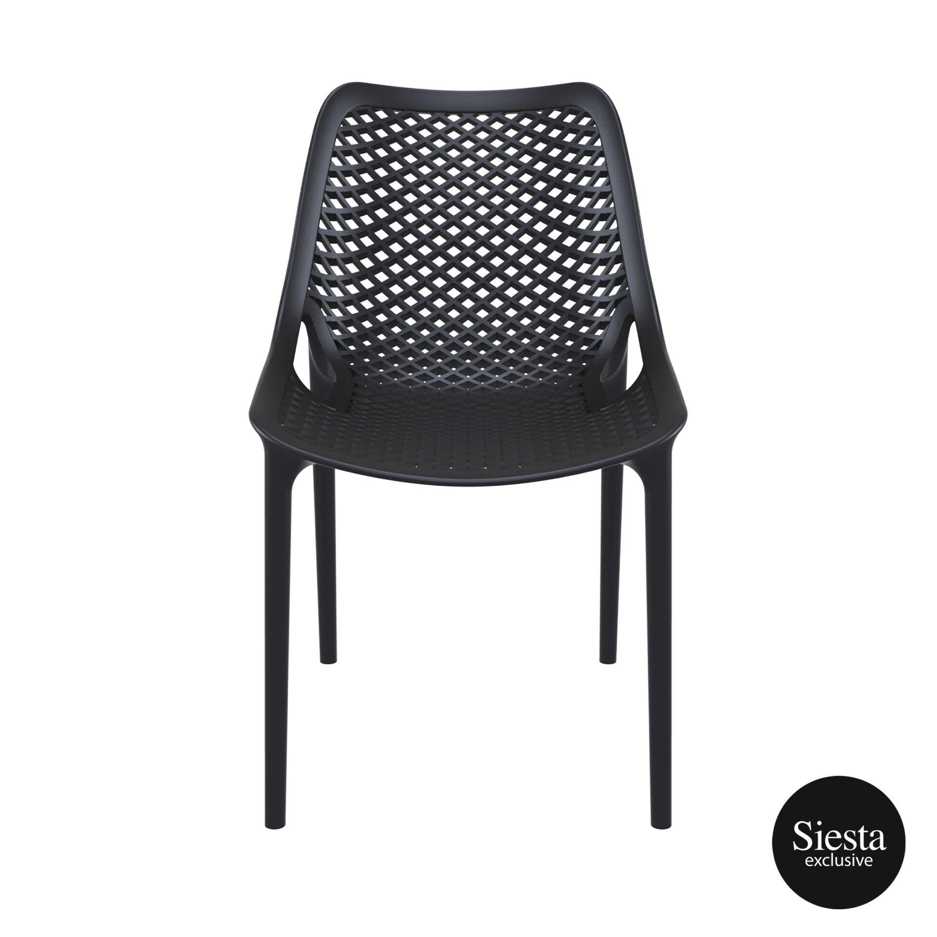 original siesta air chair black front 1