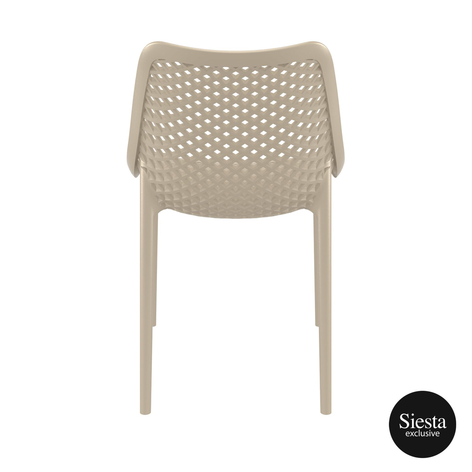 original siesta air chair dovegrey back 1
