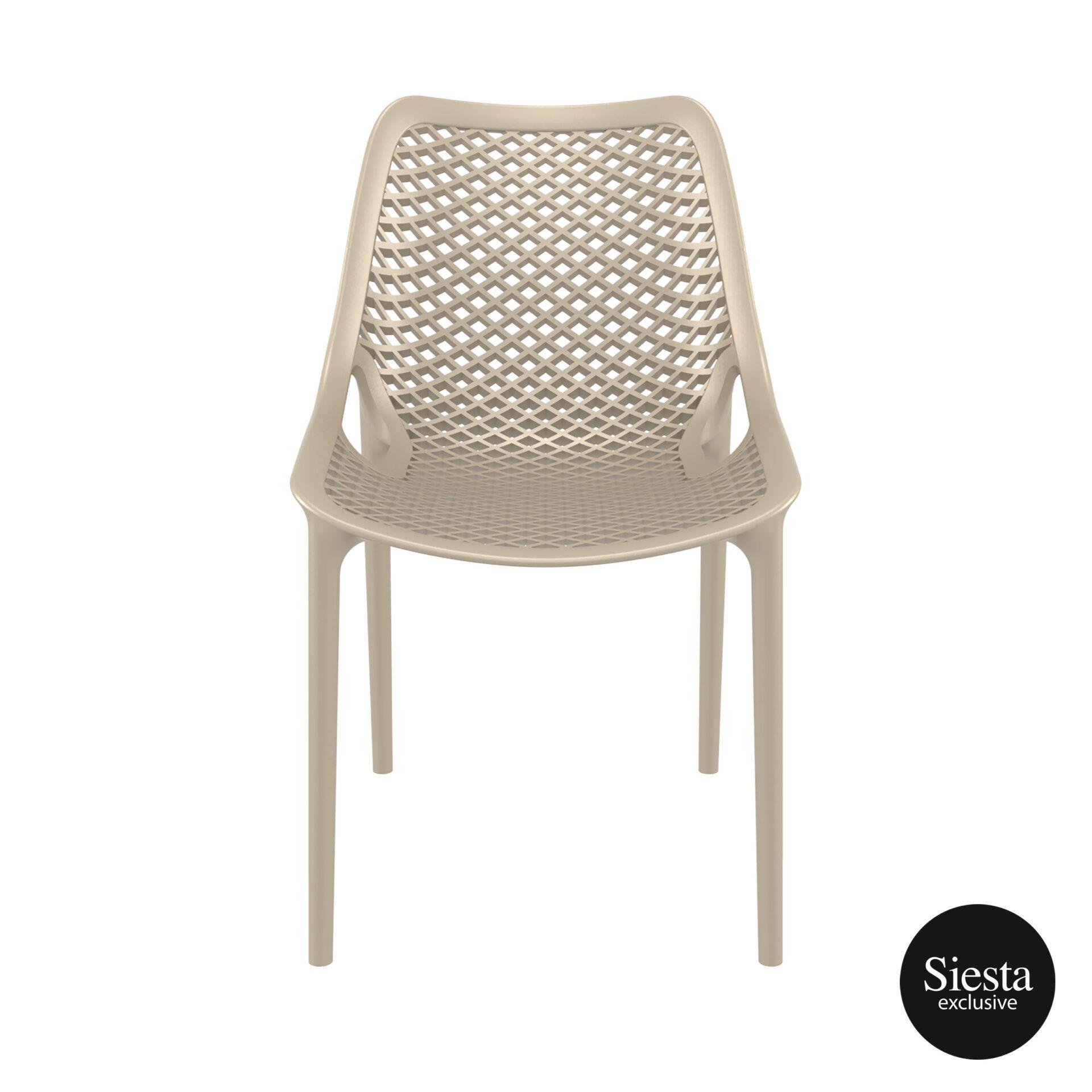 original siesta air chair dovegrey front 1