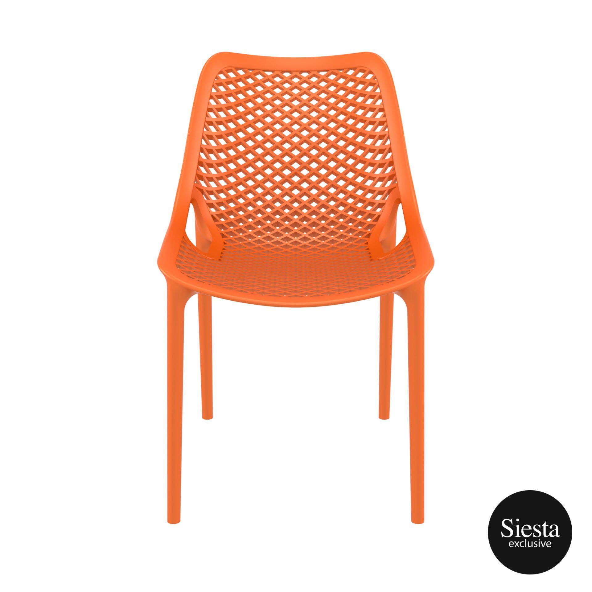 original siesta air chair orange front 1