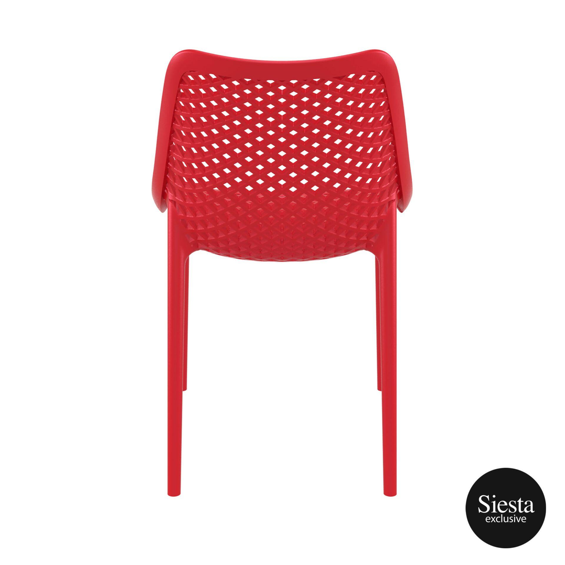 original siesta air chair red back 1