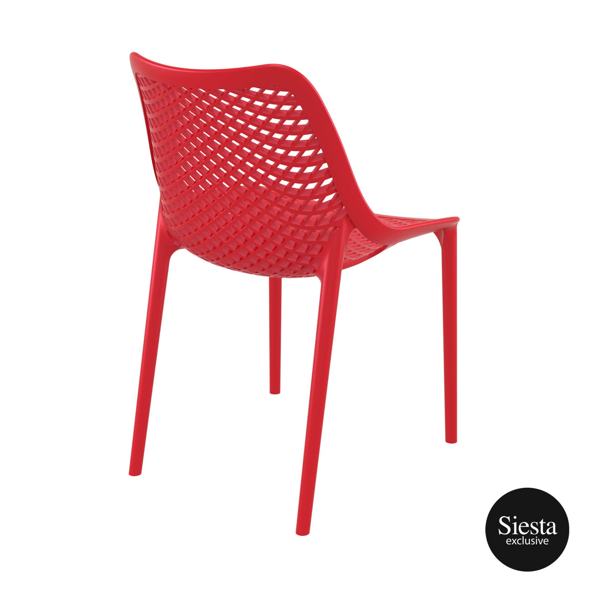 original siesta air chair red back side 1
