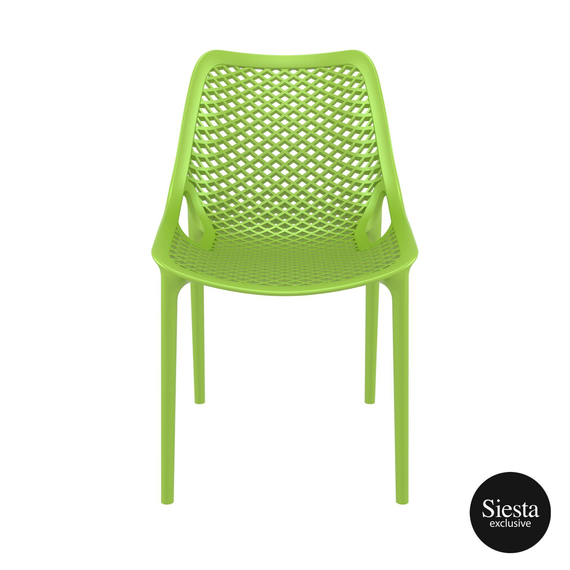 original siesta air chair tropical green front 1