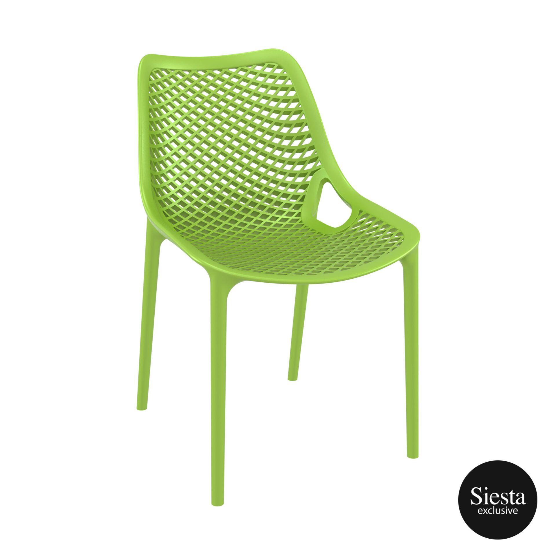 original siesta air chair tropical green front side 1