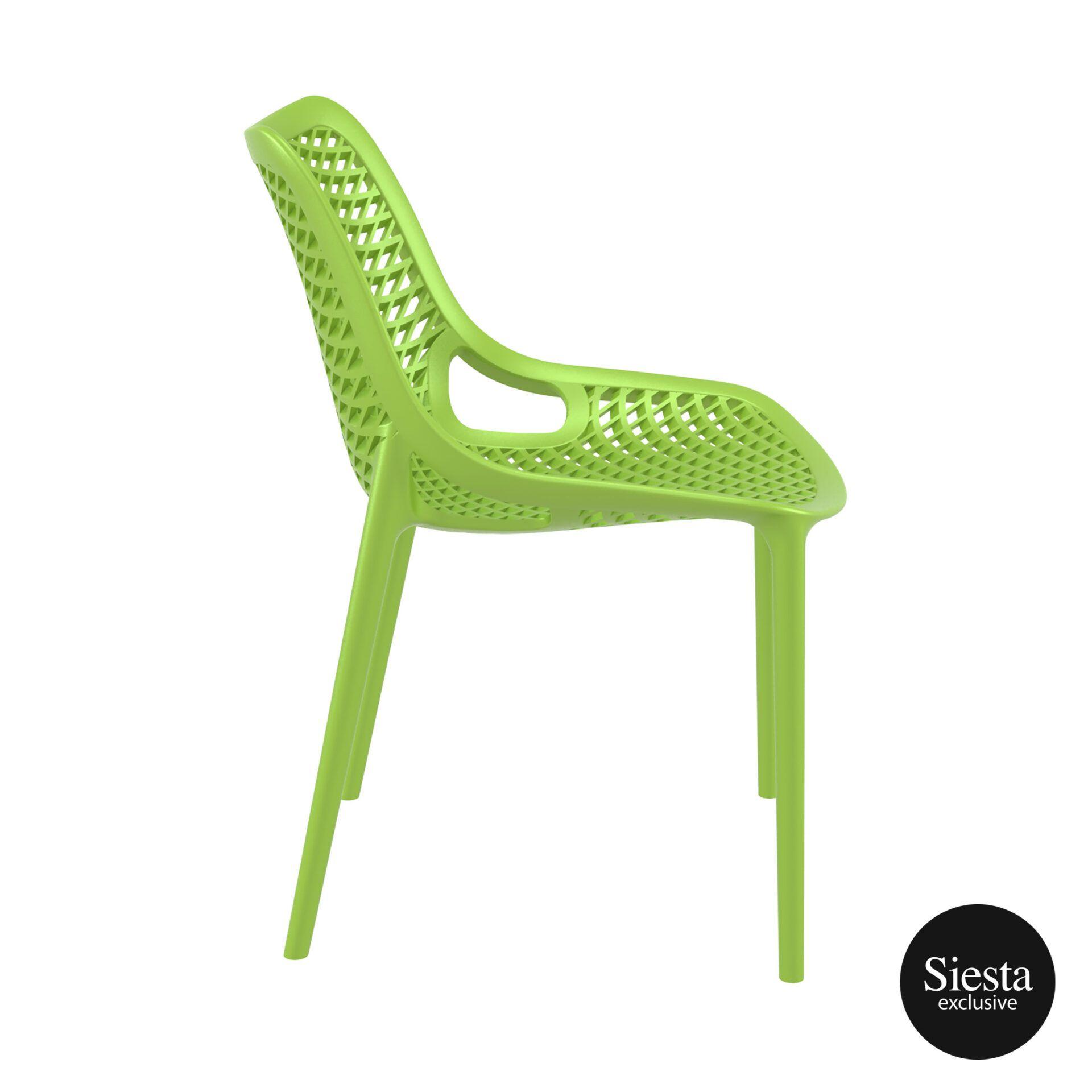 original siesta air chair tropical green side 1