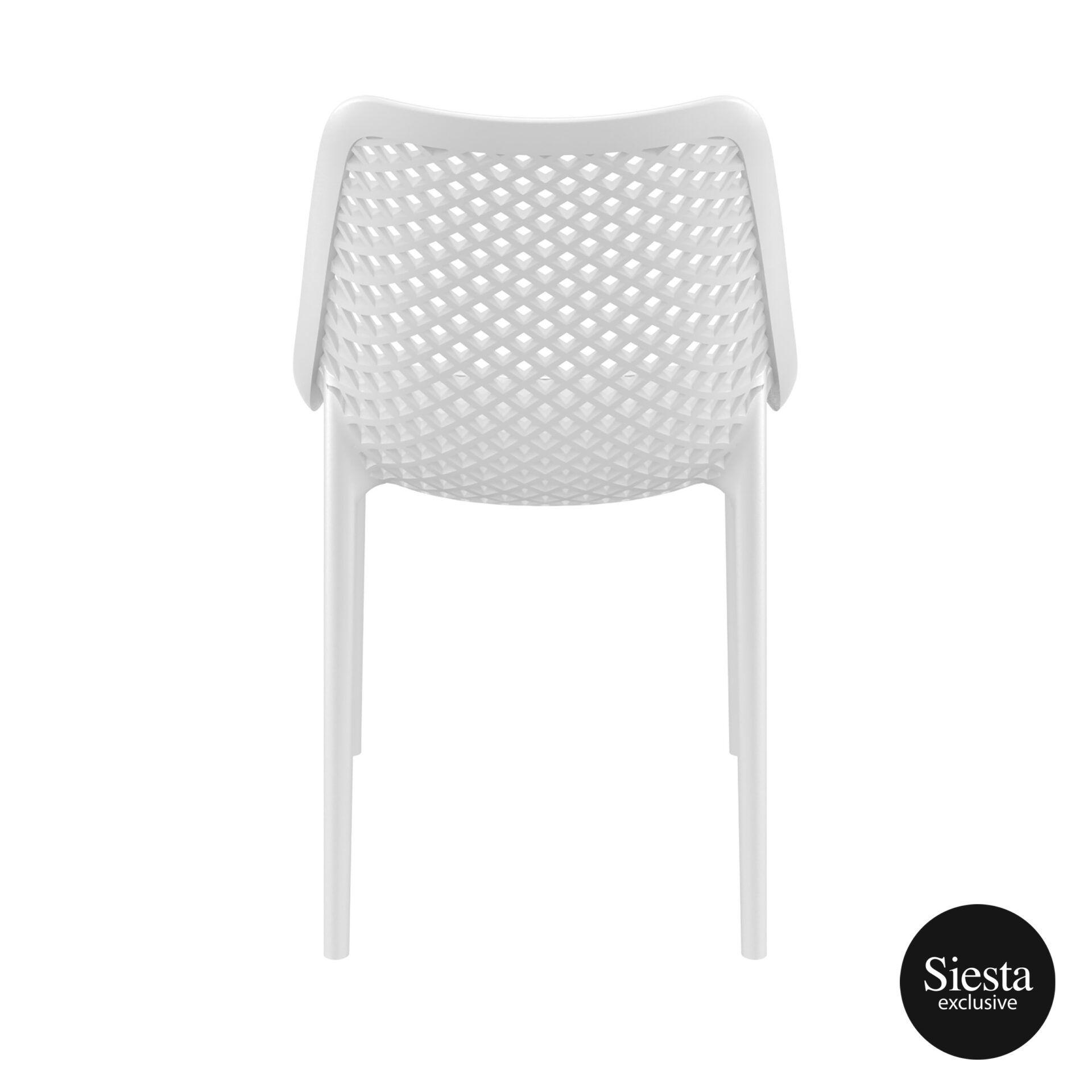 original siesta air chair white back 1