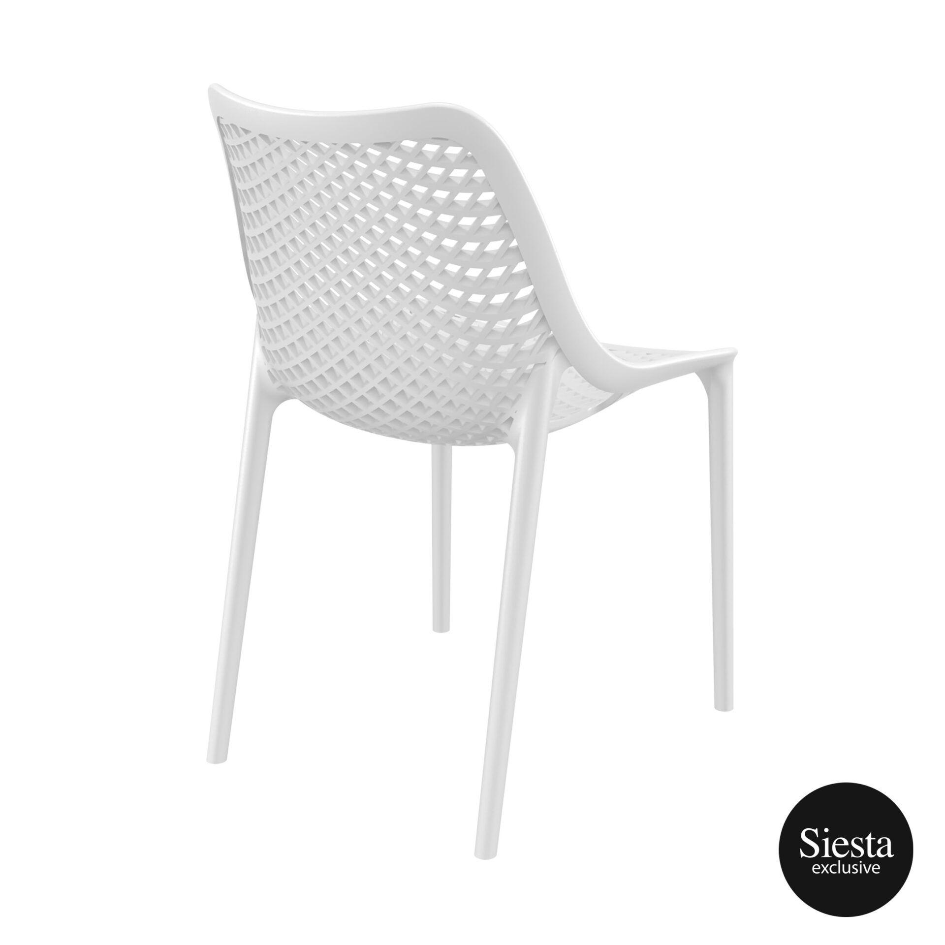 original siesta air chair white back side 1