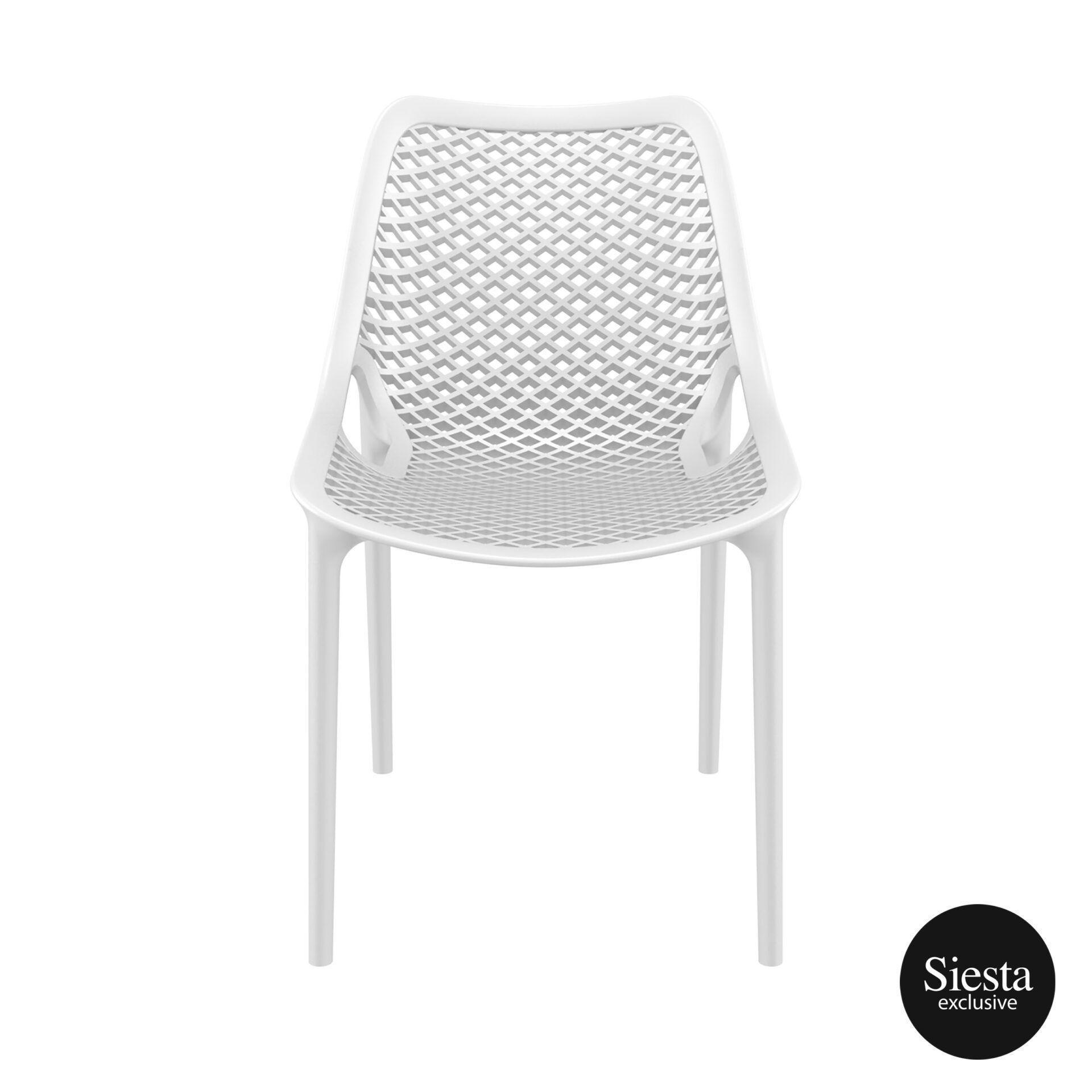 original siesta air chair white front 1