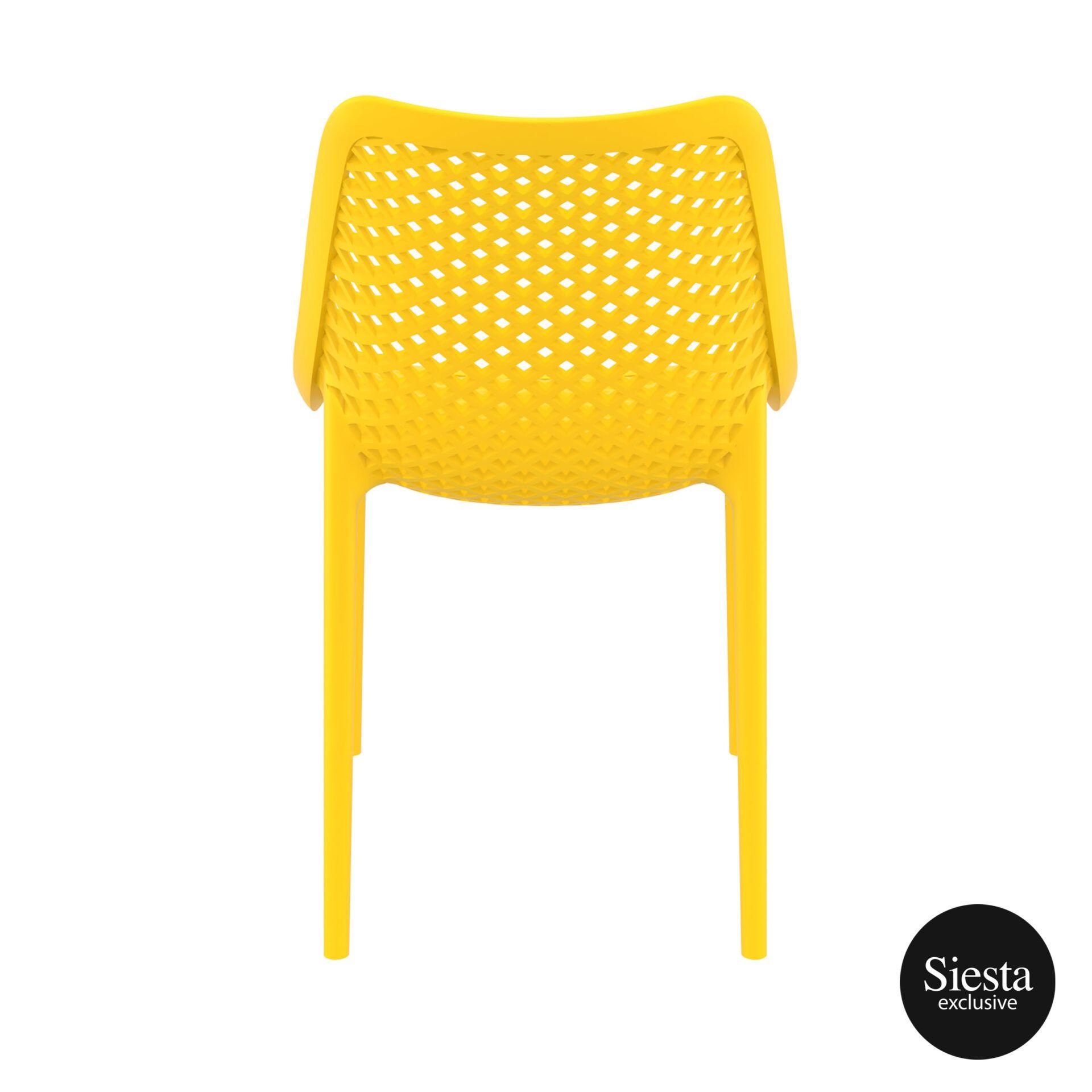 original siesta air chair yellow back 1