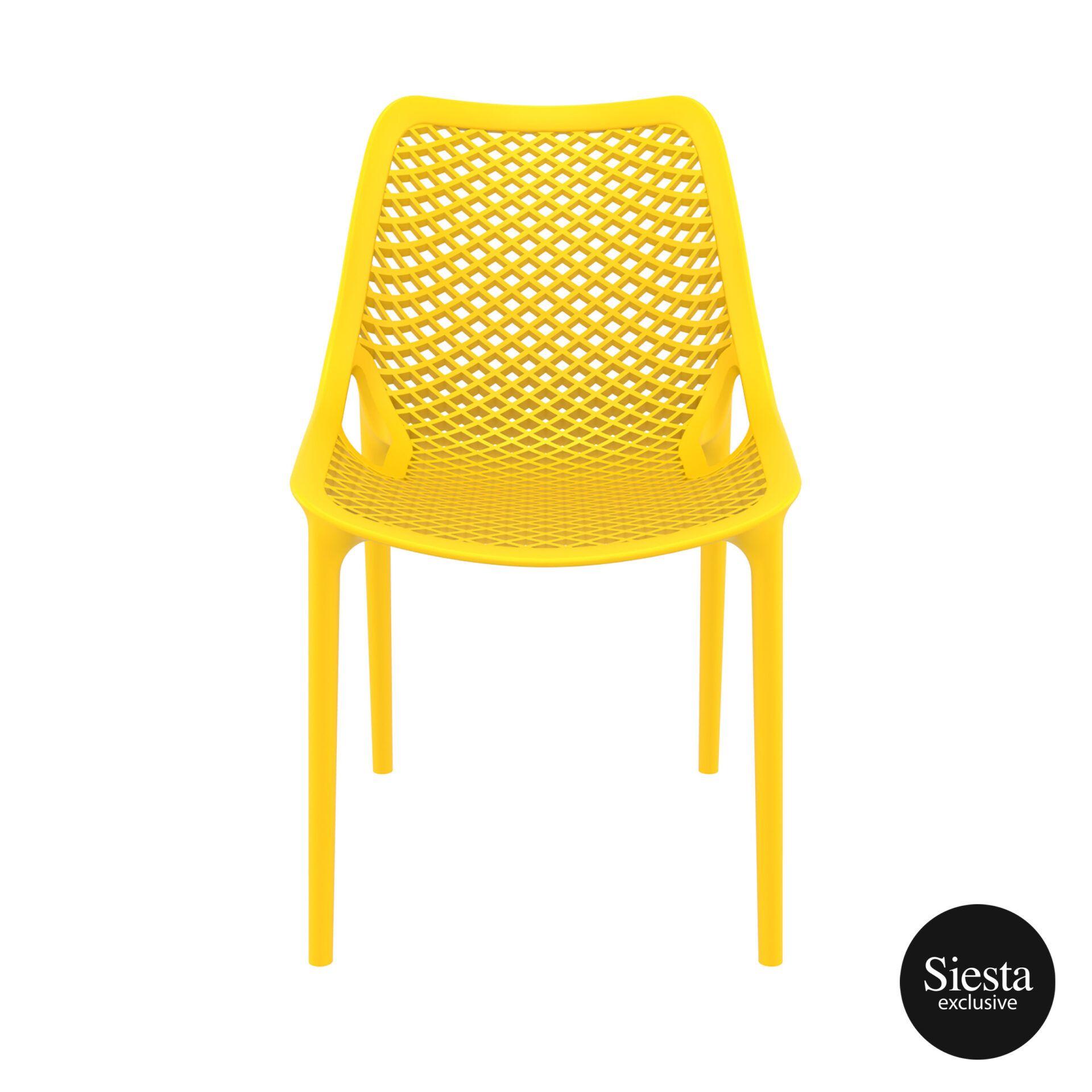 original siesta air chair yellow front 1