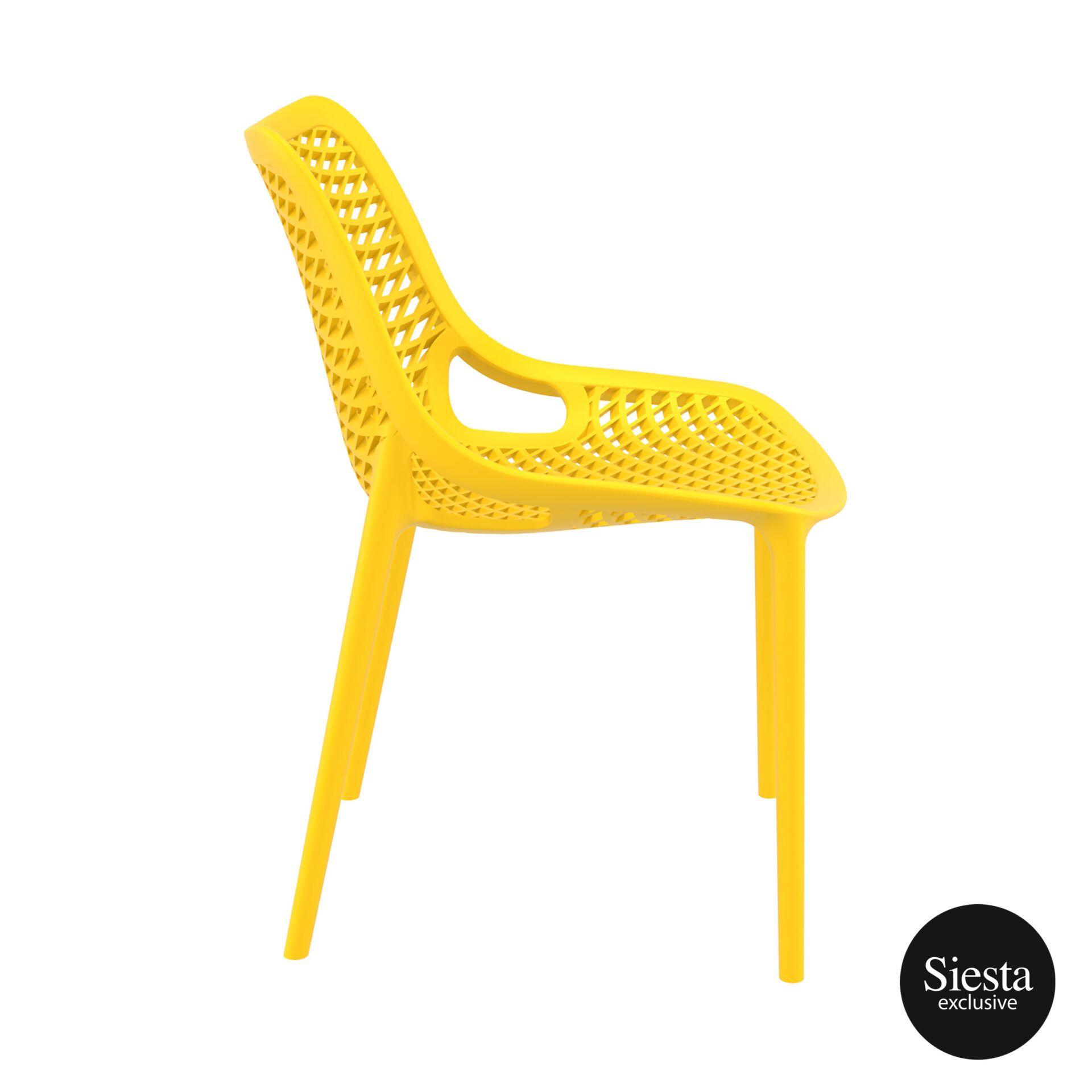 original siesta air chair yellow side 1