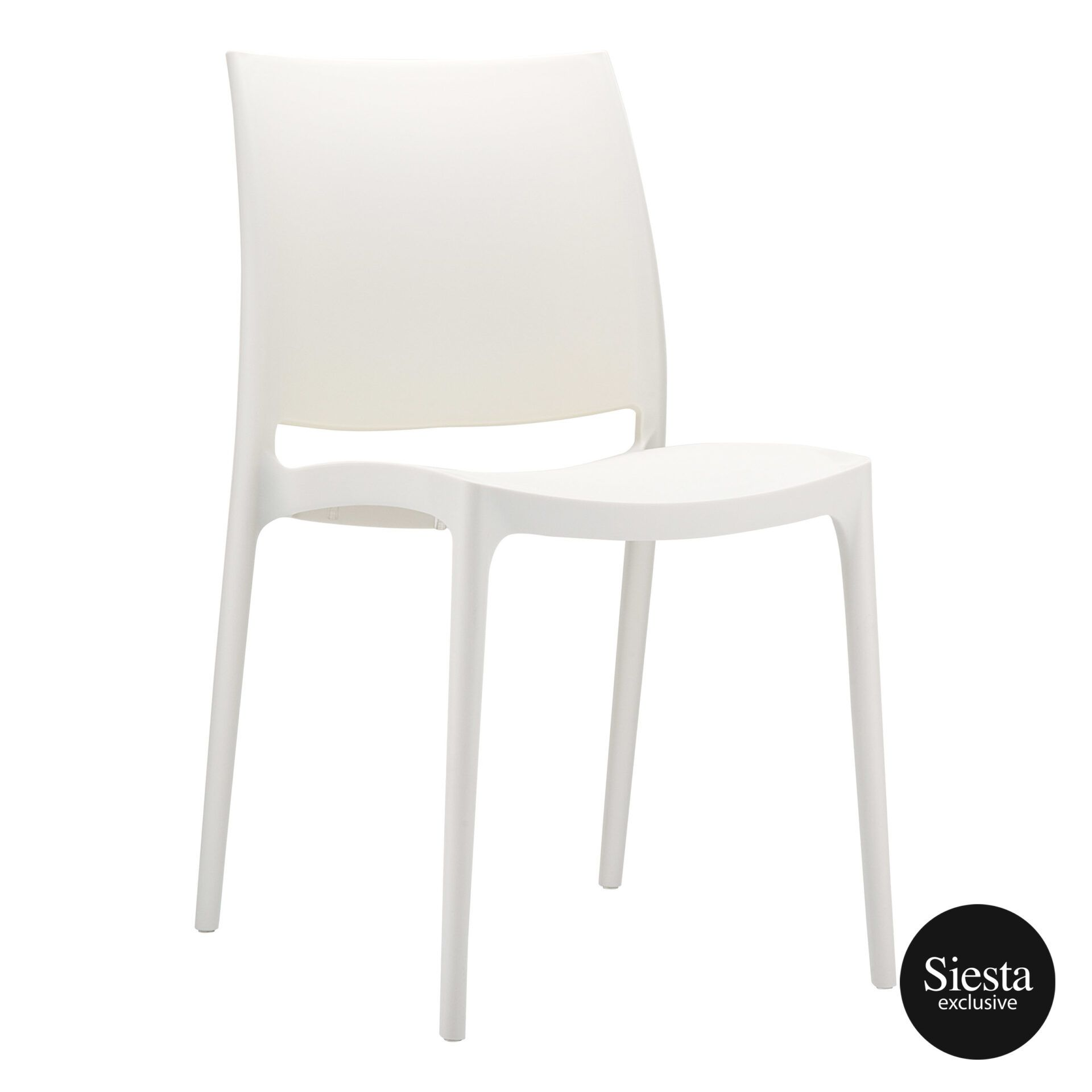 outdoor dining maya chair beige front side 1
