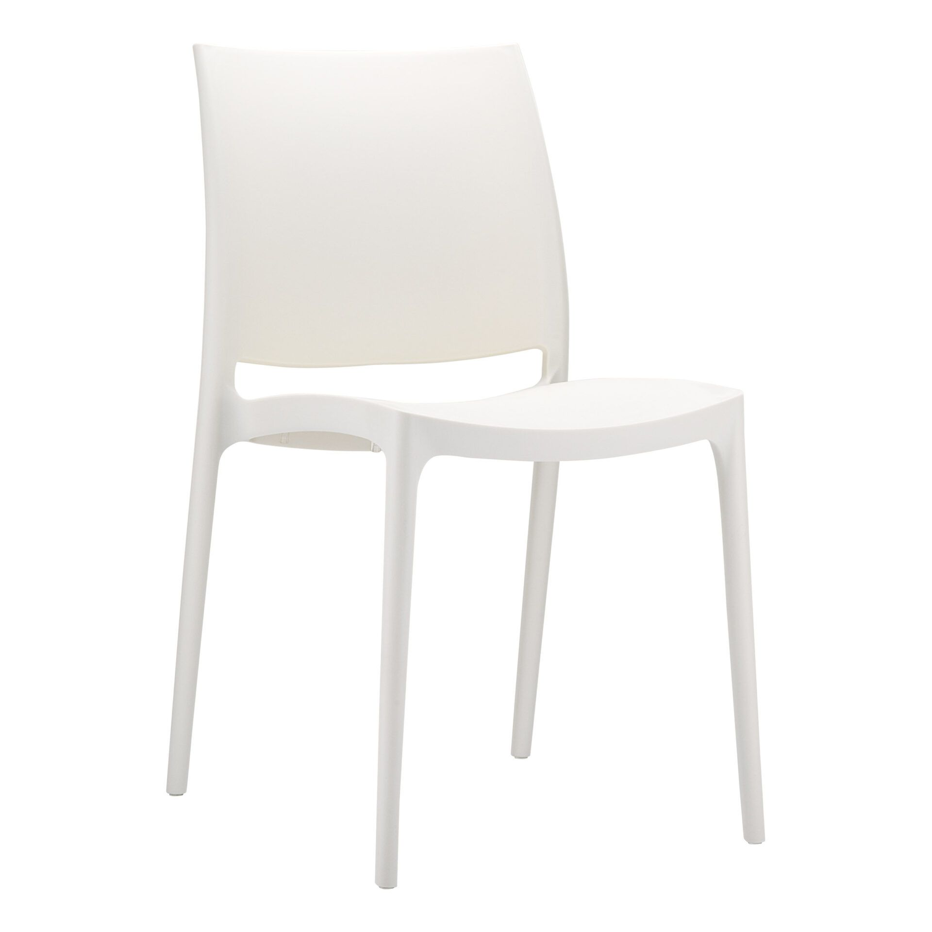 outdoor dining maya chair beige front side