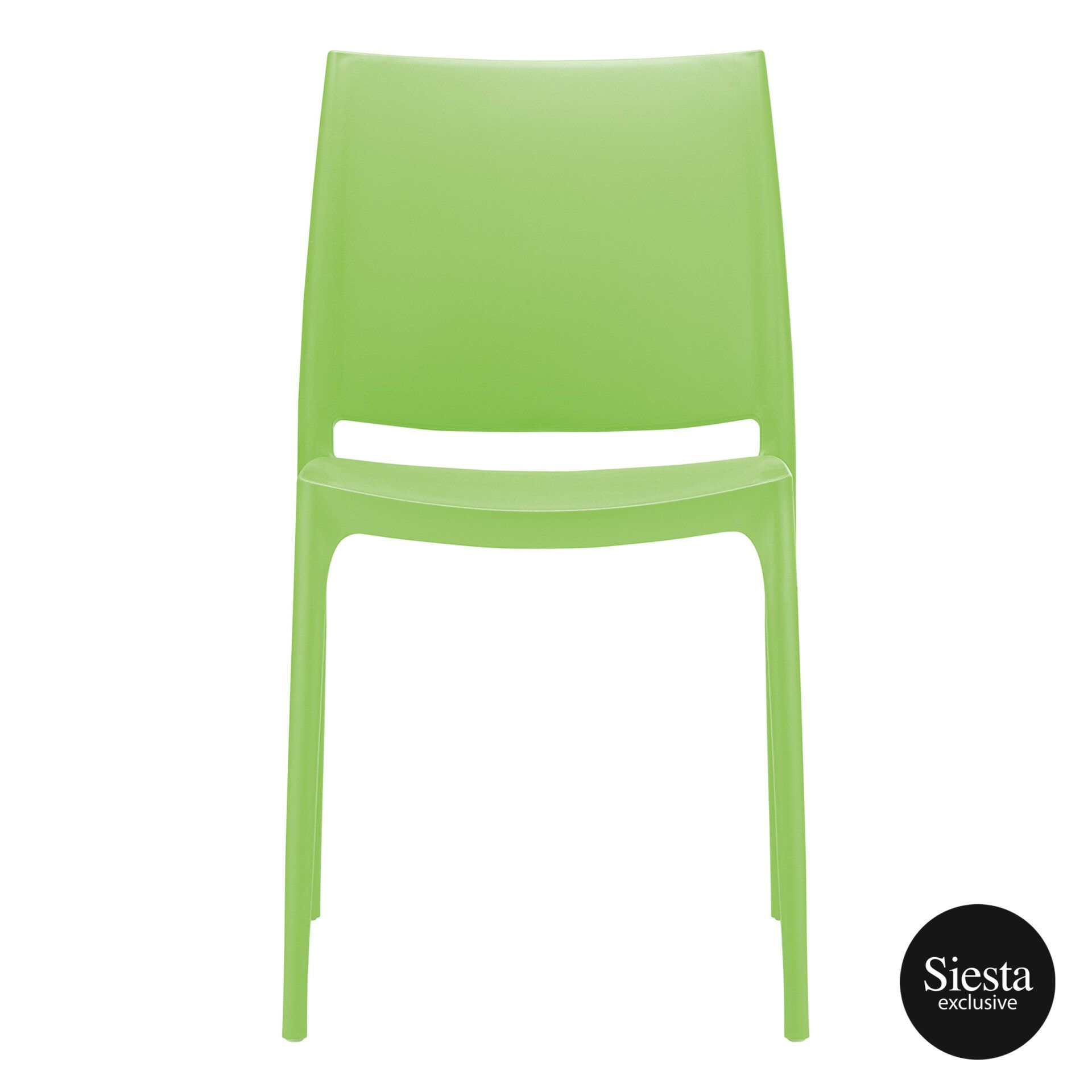 outdoor dining maya chair tropical green front 1