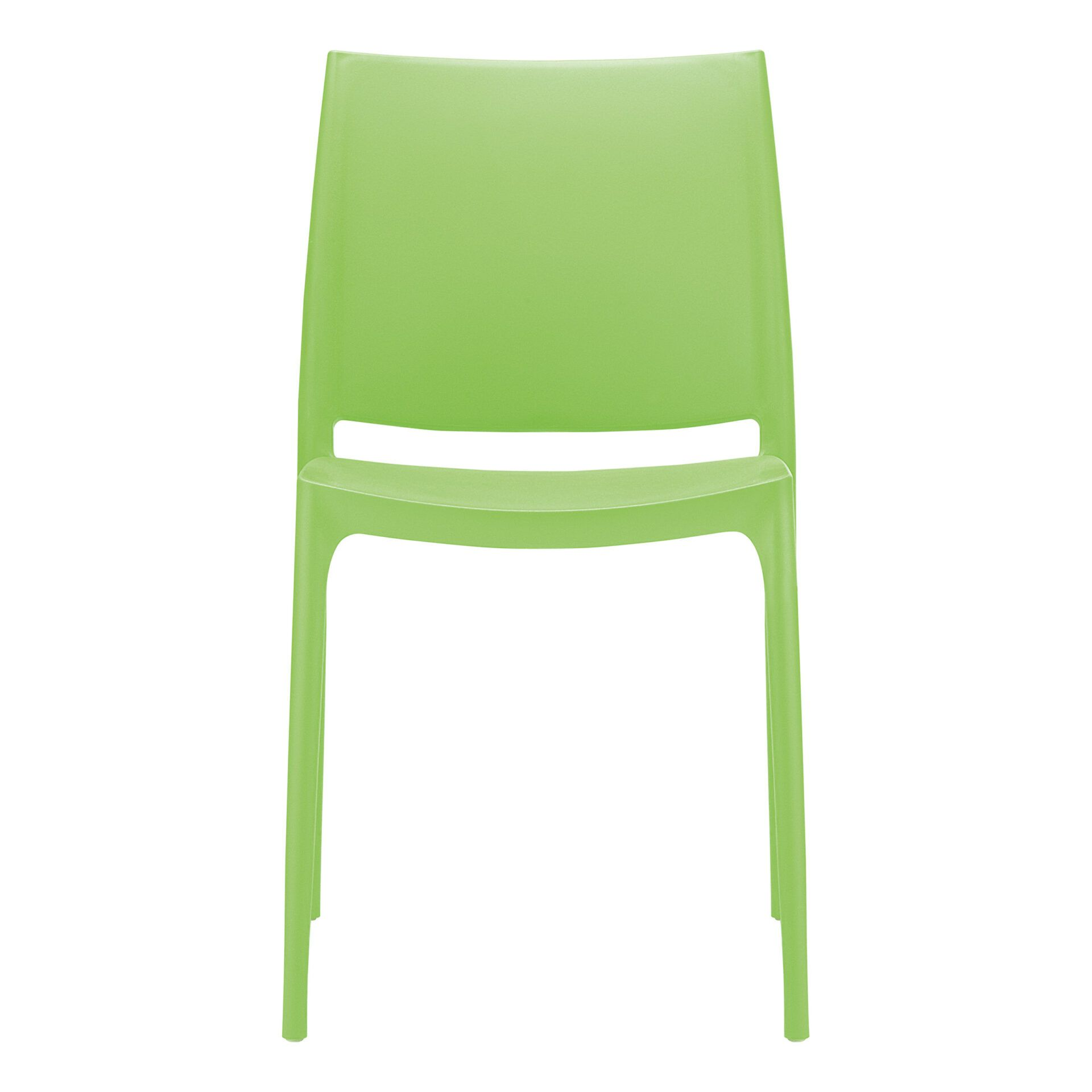 outdoor dining maya chair tropical green front