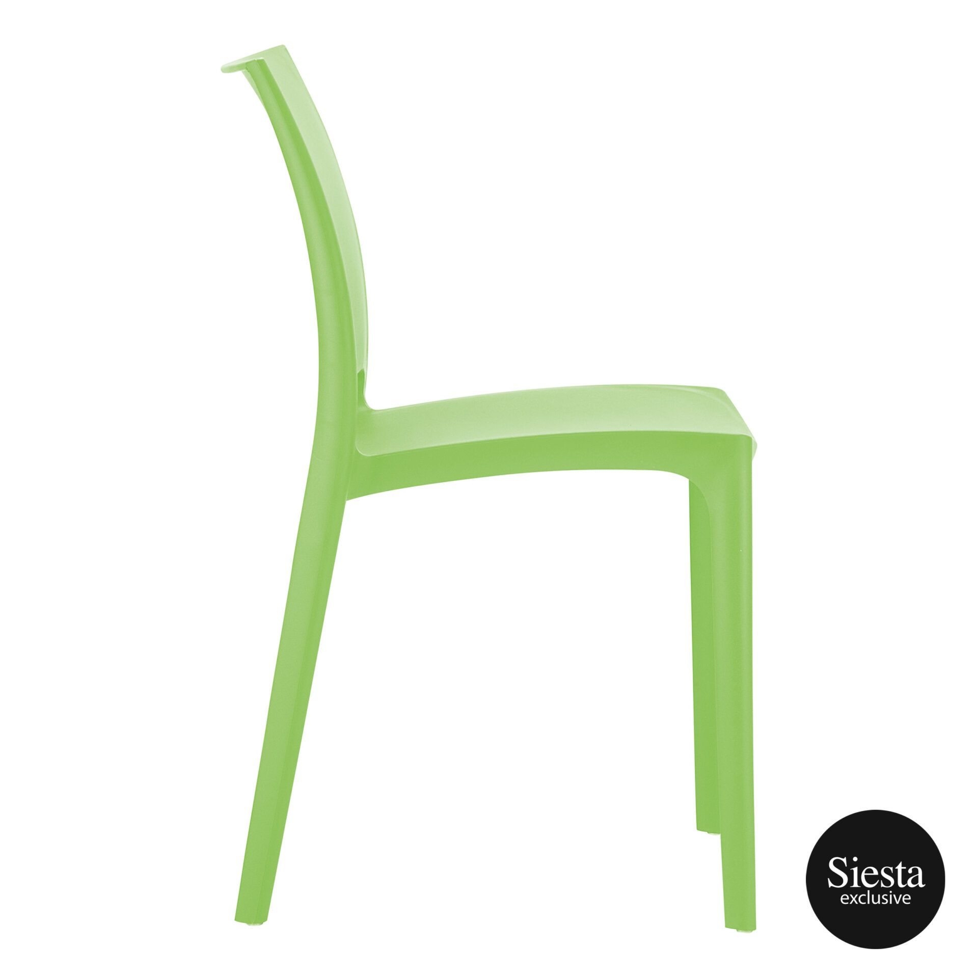 outdoor dining maya chair tropical green side 1