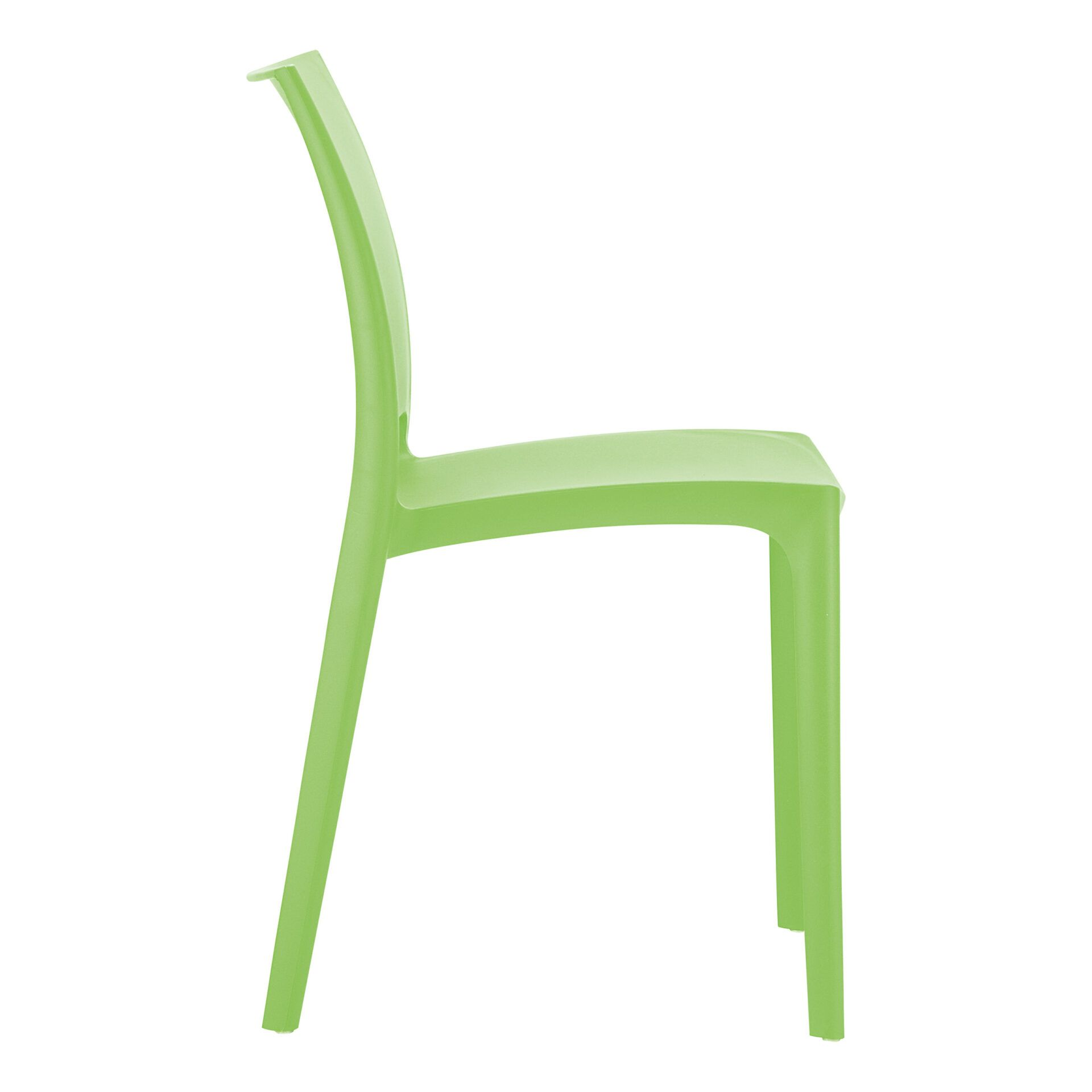 outdoor dining maya chair tropical green side