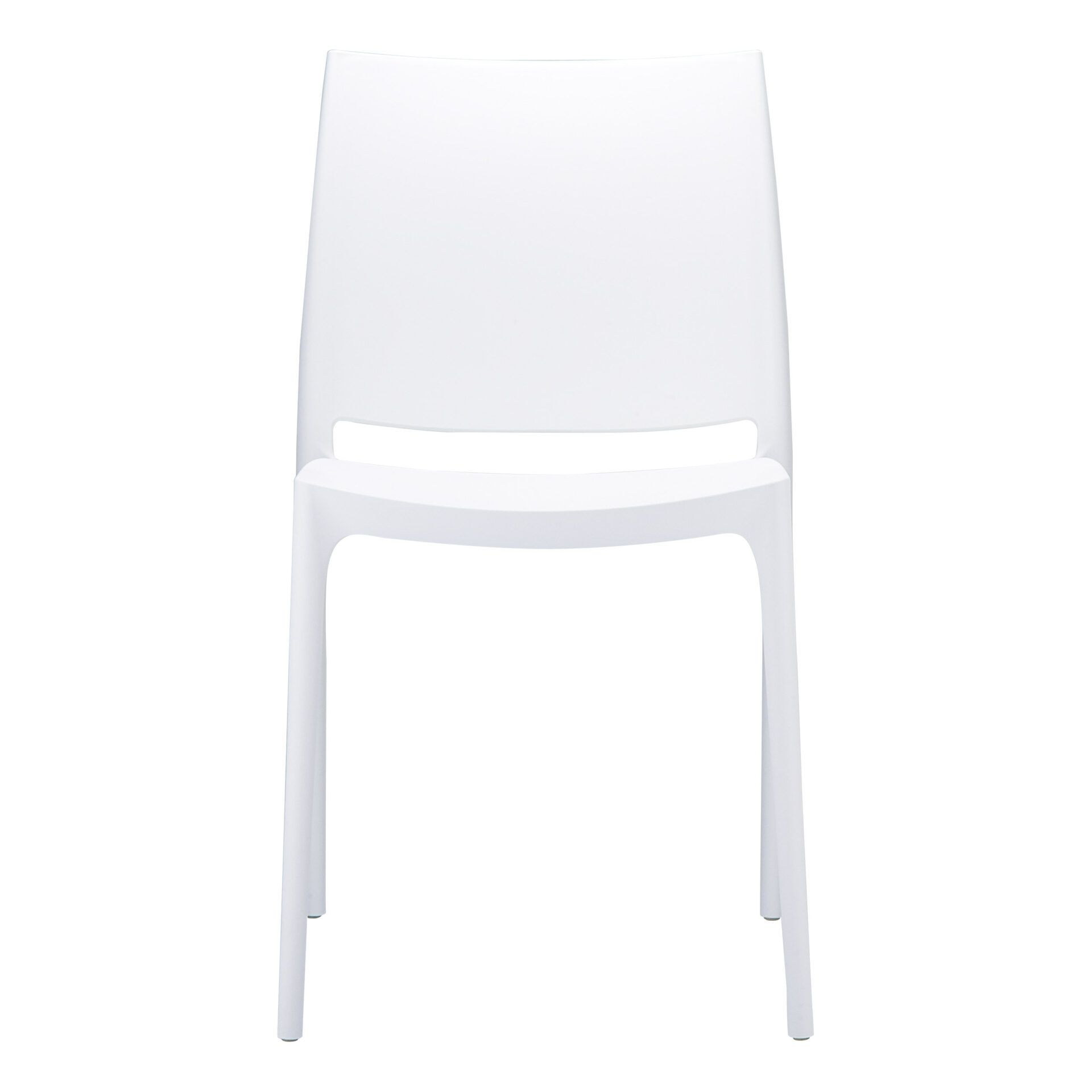 outdoor dining maya chair white front