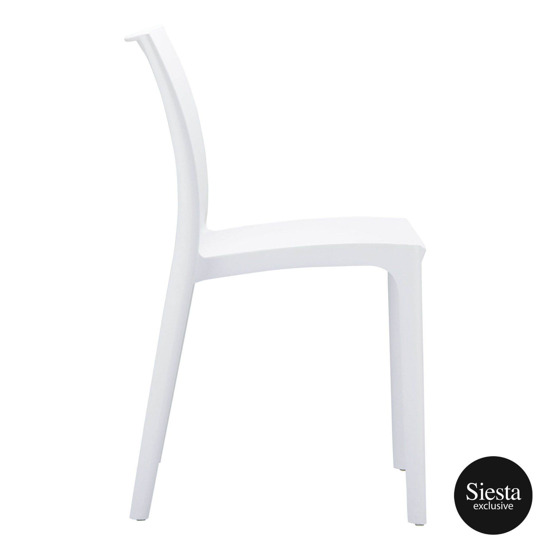 outdoor dining maya chair white side 1