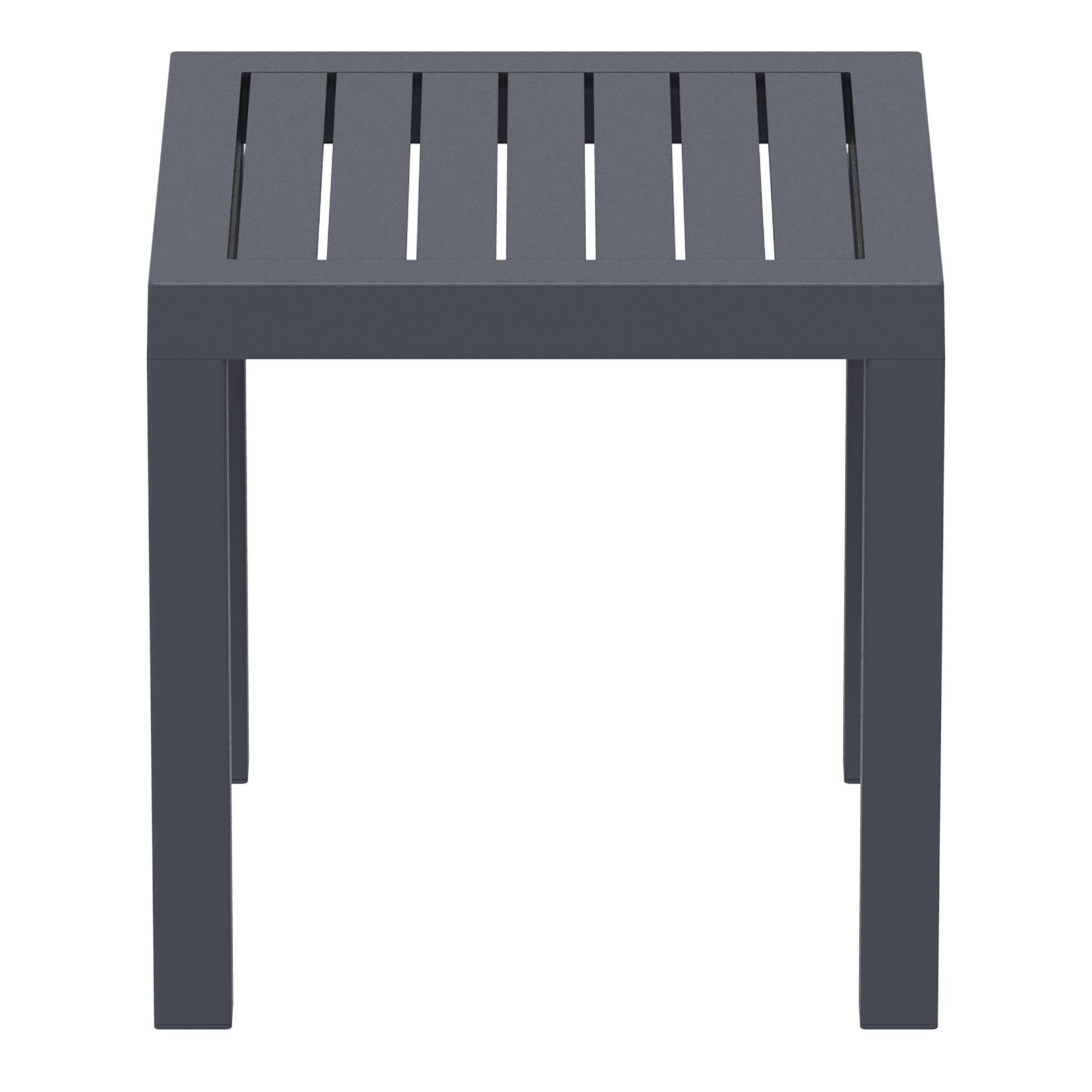 plastic outdoor resort ocean side table darkgrey side