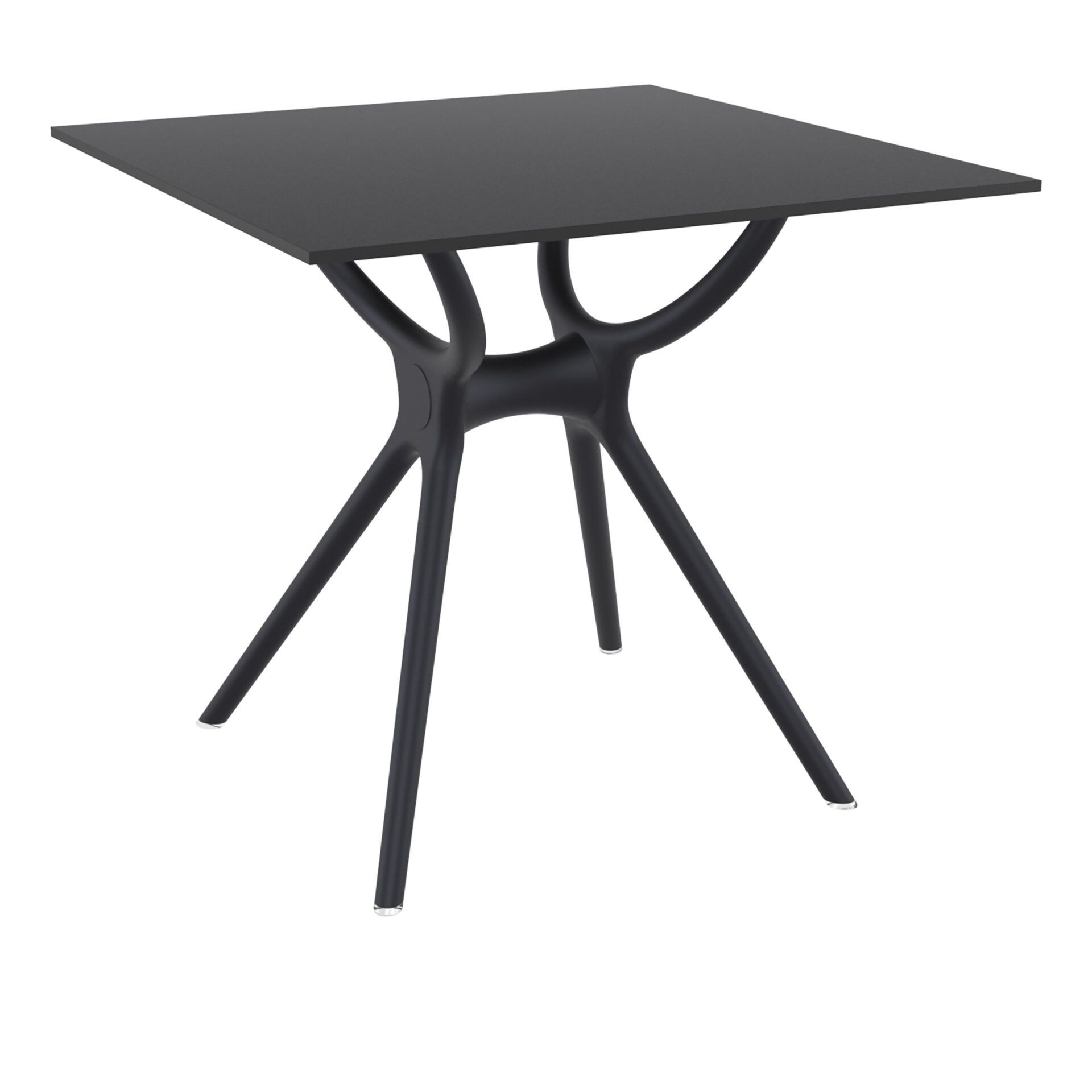 polypropylene hospitality air table 80 black front side