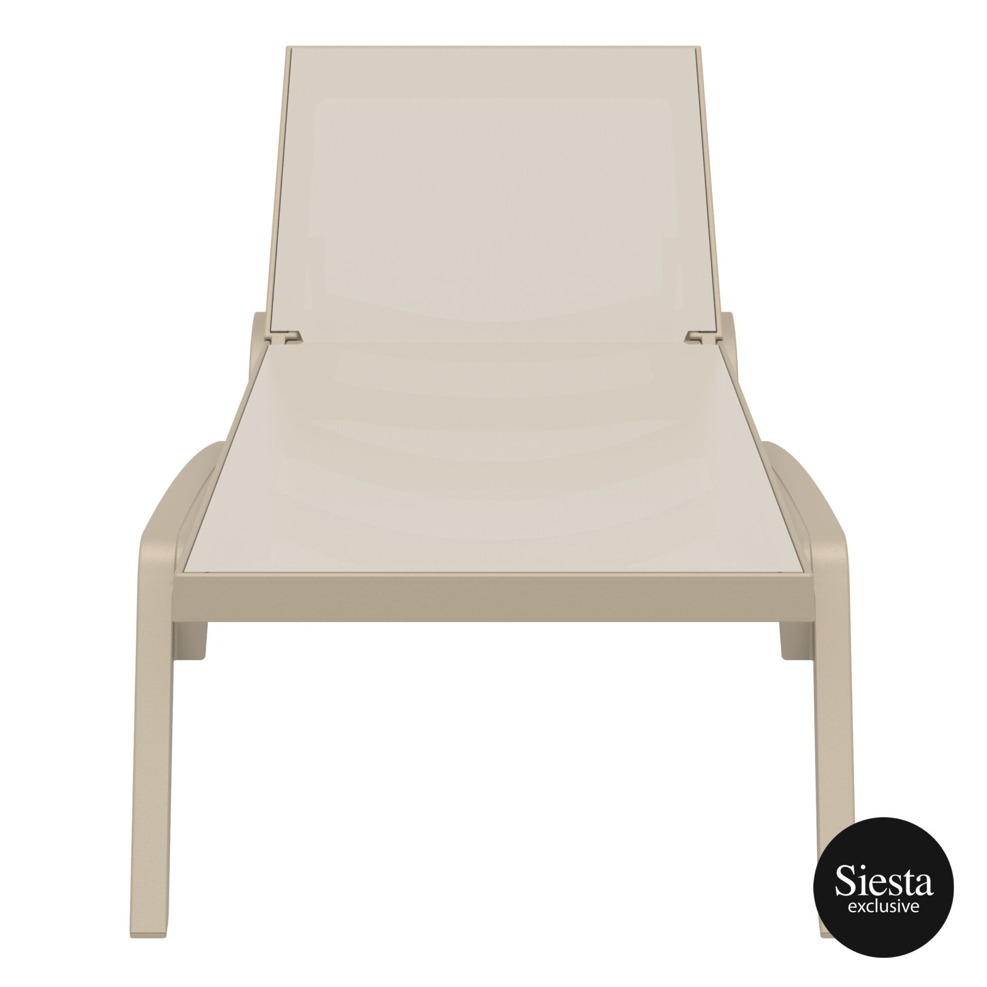 pool deck commercial pacific sunlounger taupe taupe front 1