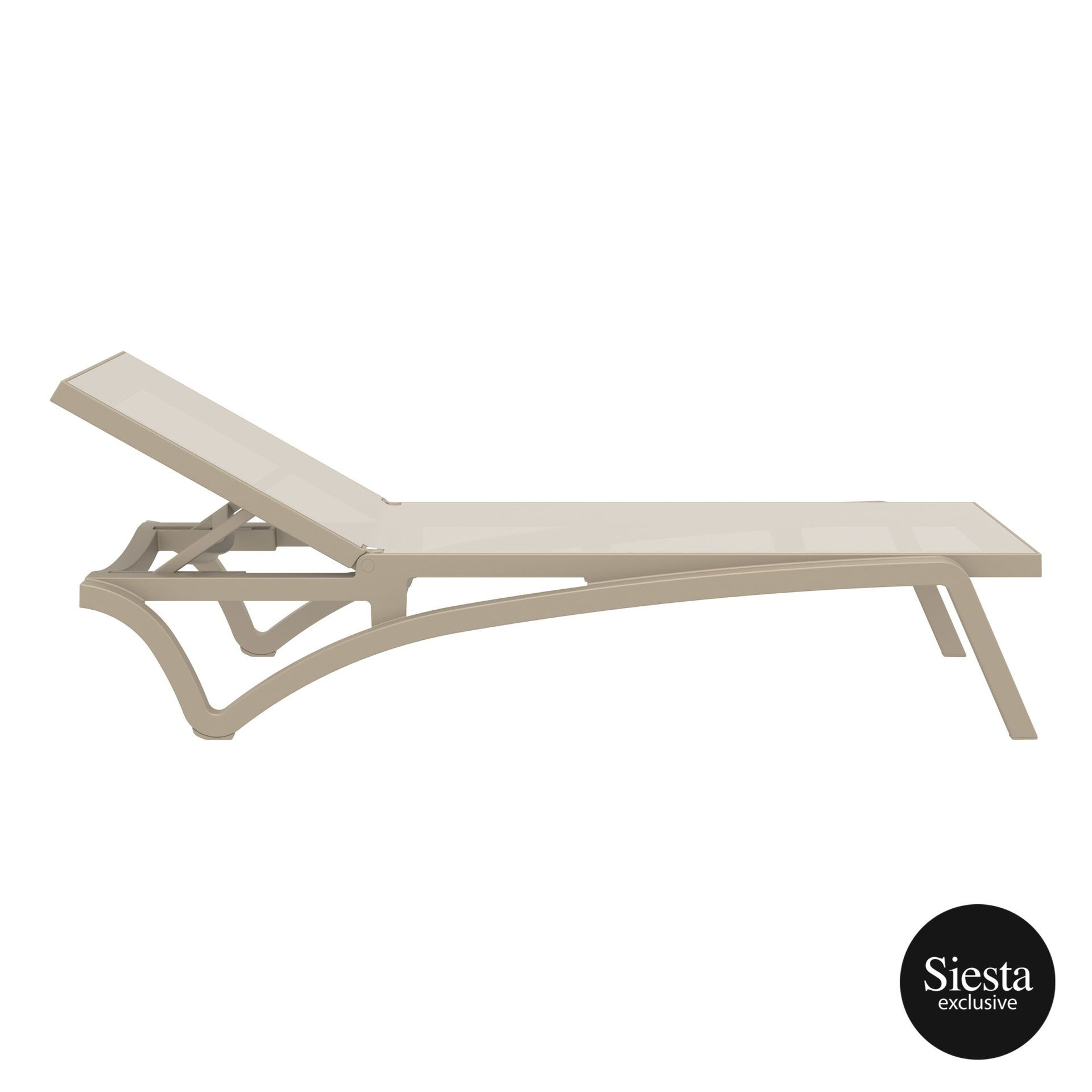 pool deck commercial pacific sunlounger taupe taupe side 1