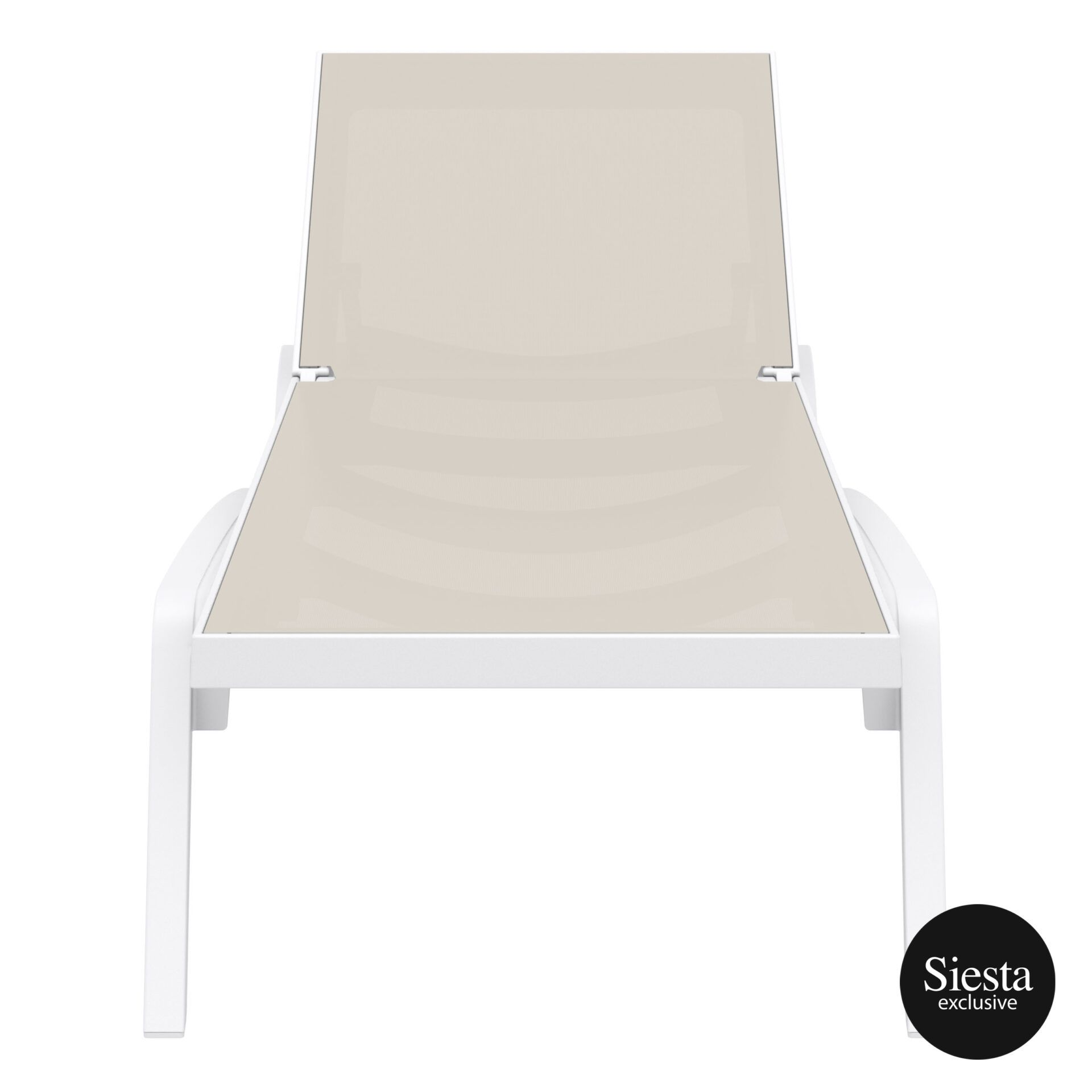 pool deck commercial pacific sunlounger white dovegrey front