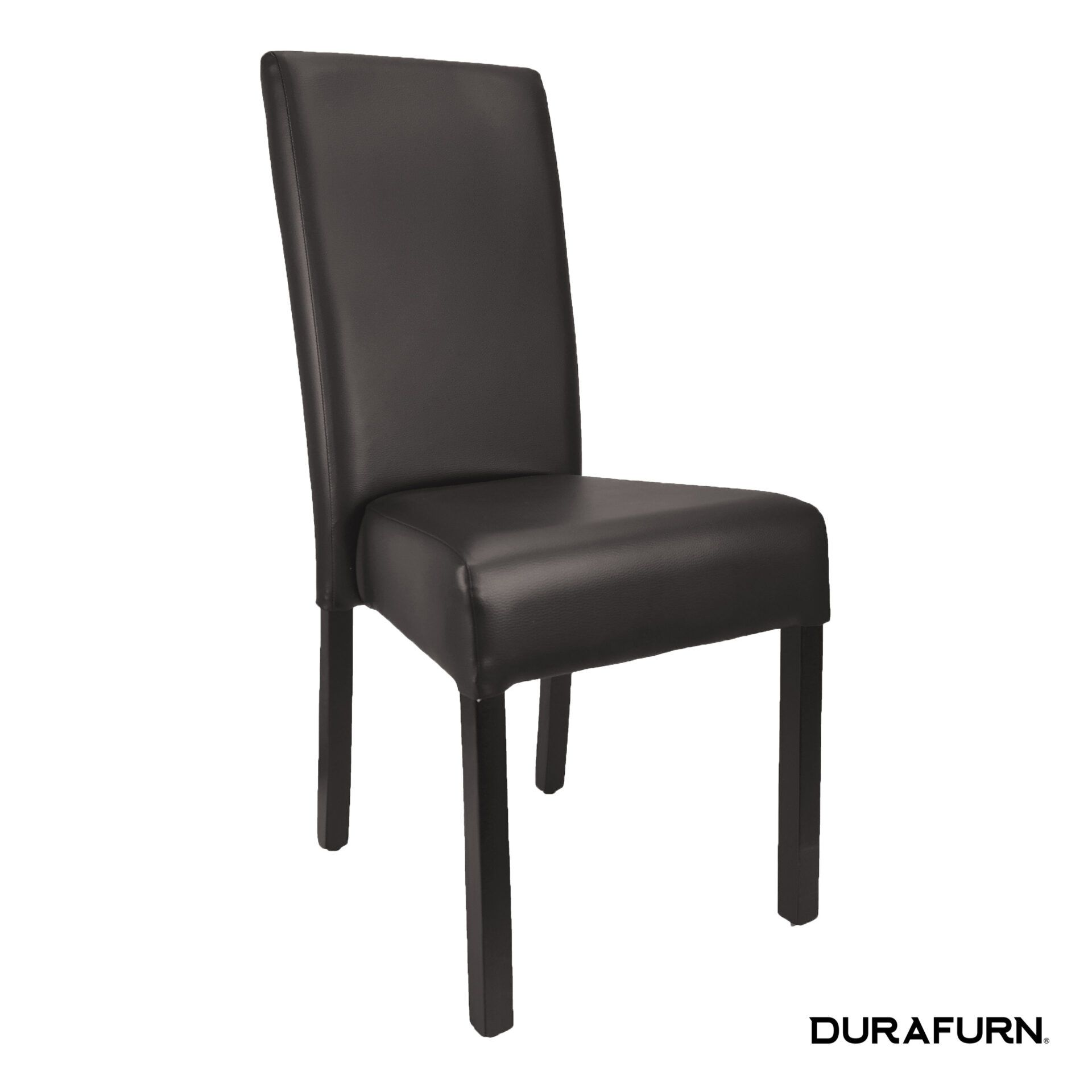 vettro chair brown front side