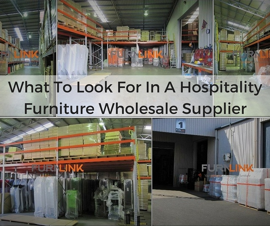 What To Look For In A Hospitality Furniture Wholesale Supplier