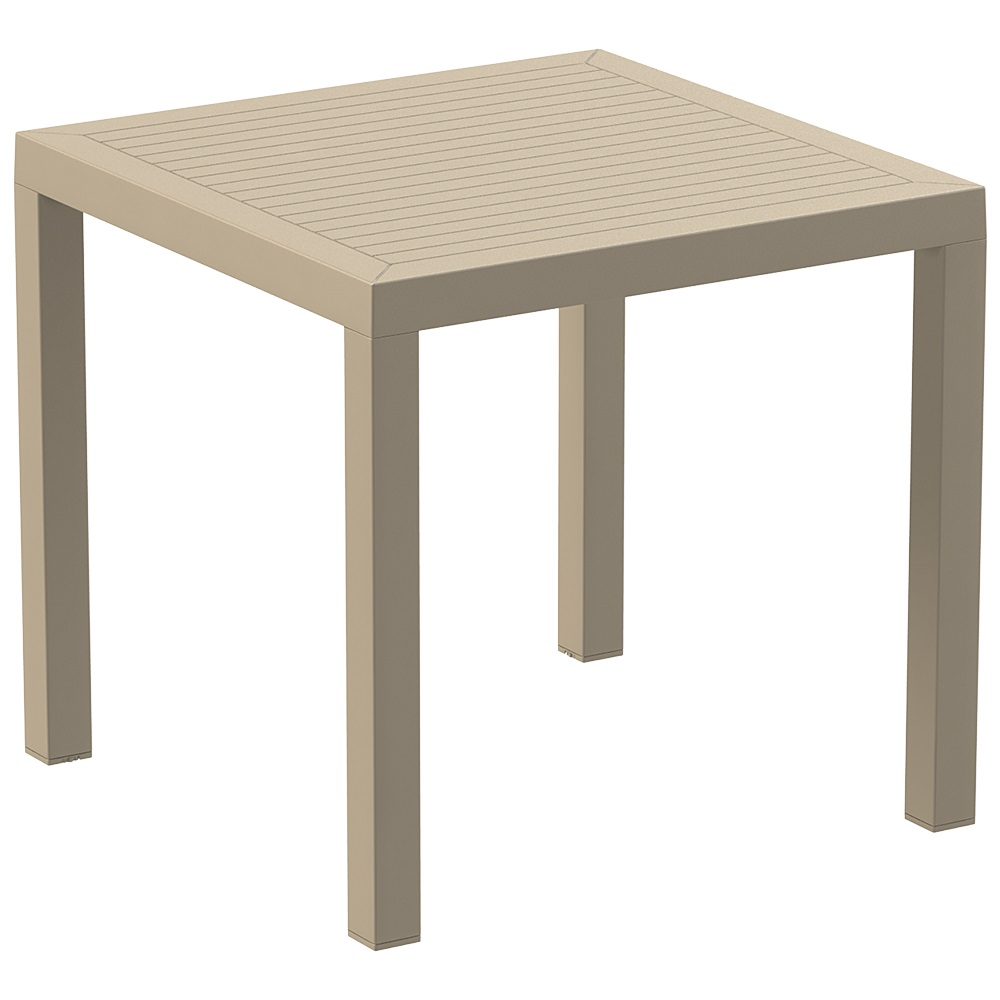 Ares Table 80 - Taupe