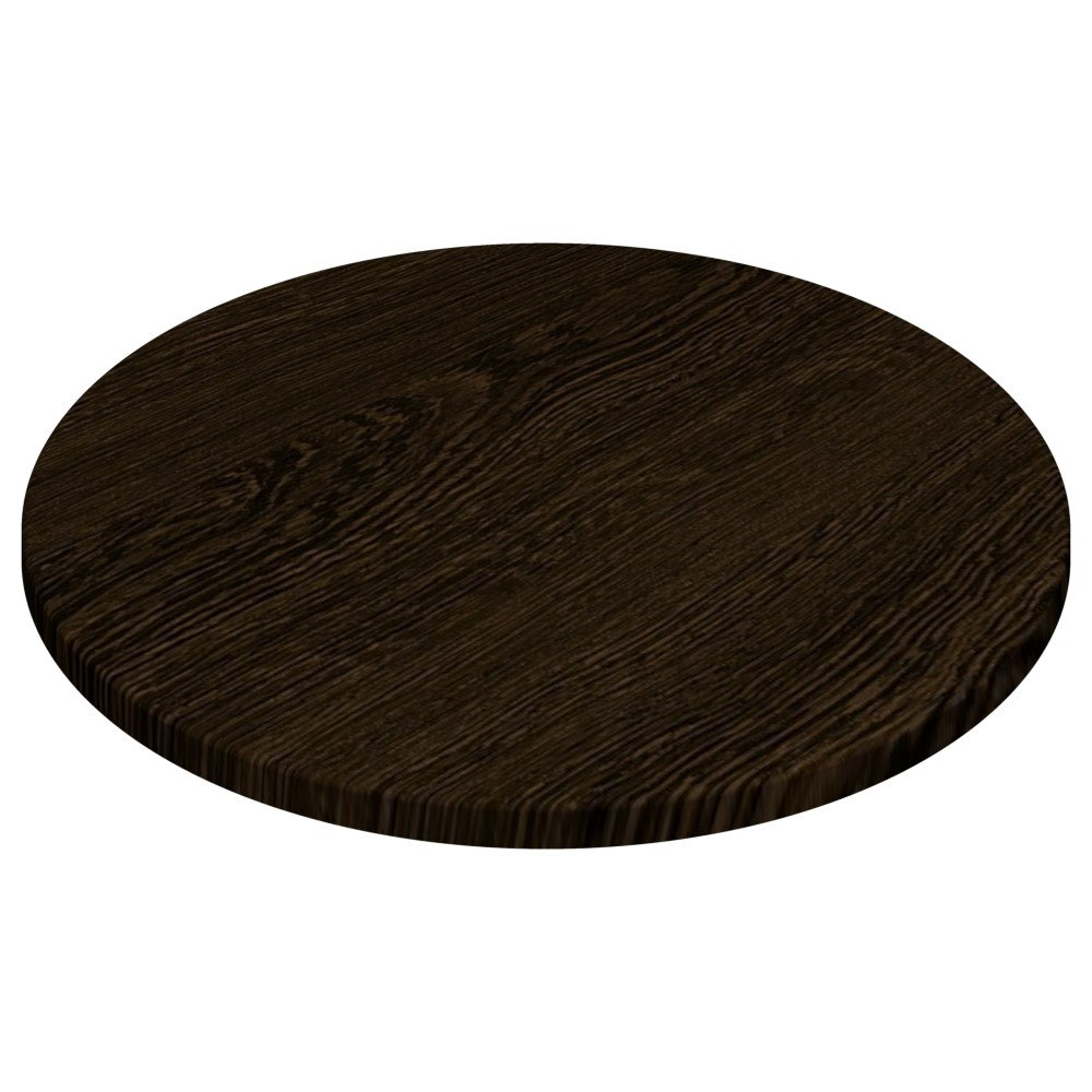 Werzalit By Gentas Round Table Top Wenge