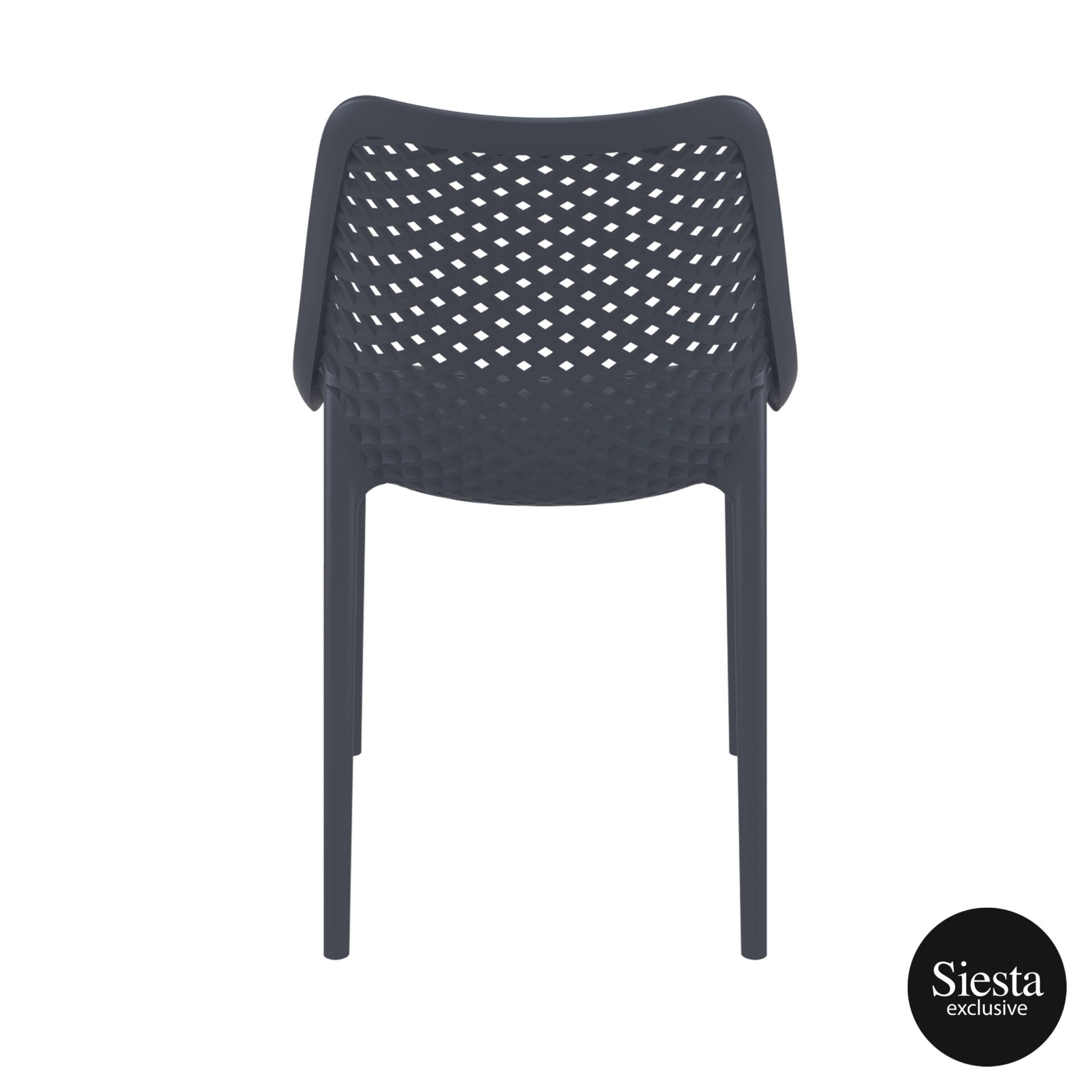 original siesta air chair darkgrey back 1