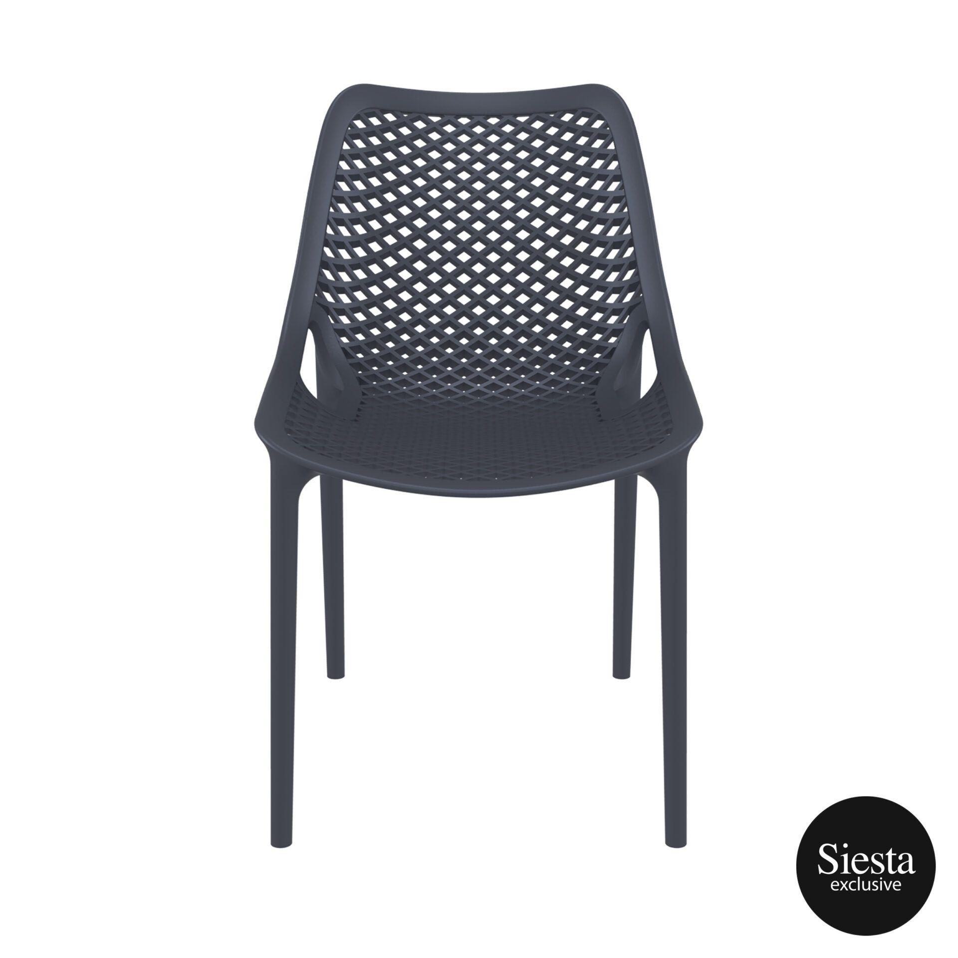 original siesta air chair darkgrey front 1