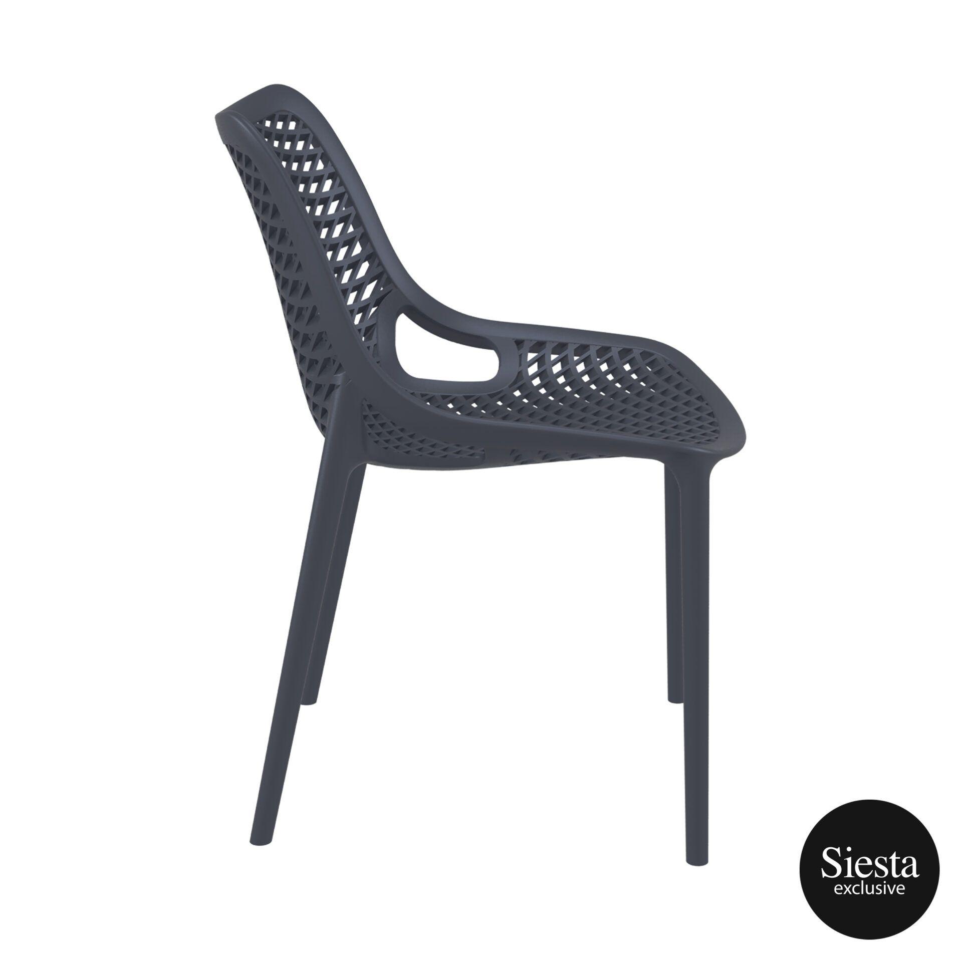original siesta air chair darkgrey side 1