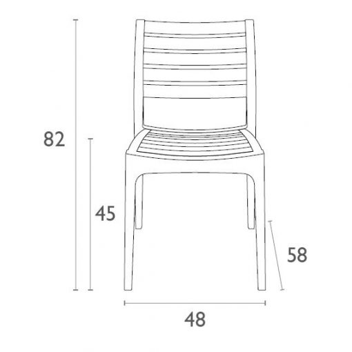 Ares Chair Dimensions