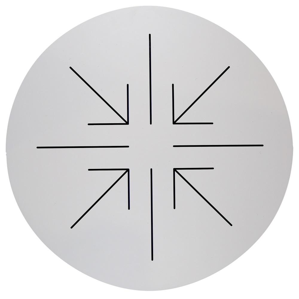 Compact Laminate Round Underside