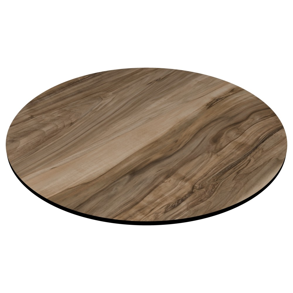 Compact Laminate Top Round Shesman